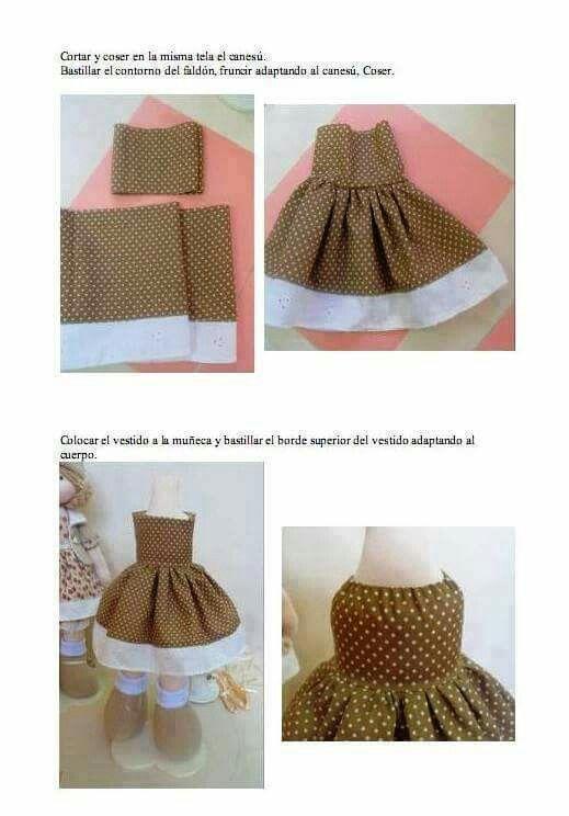 Платье для мишки тедди выкройка