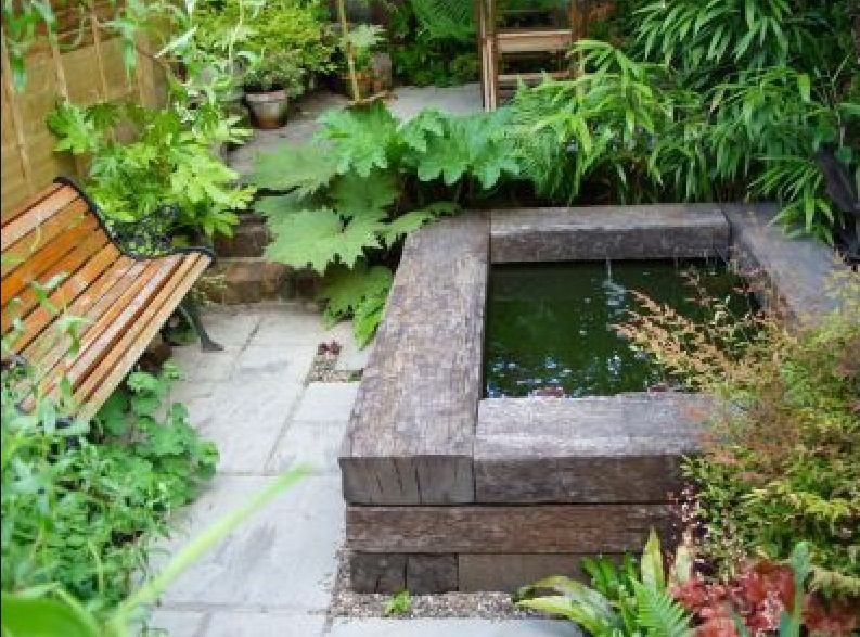 Raised Pond Garden Small Pinterest