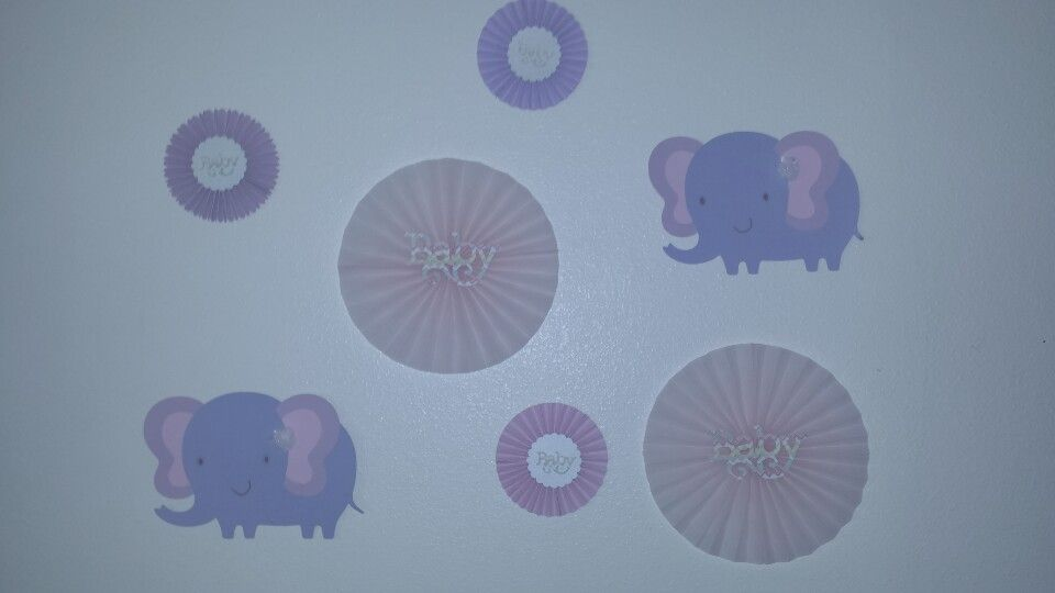 elephant baby shower wall decor creations