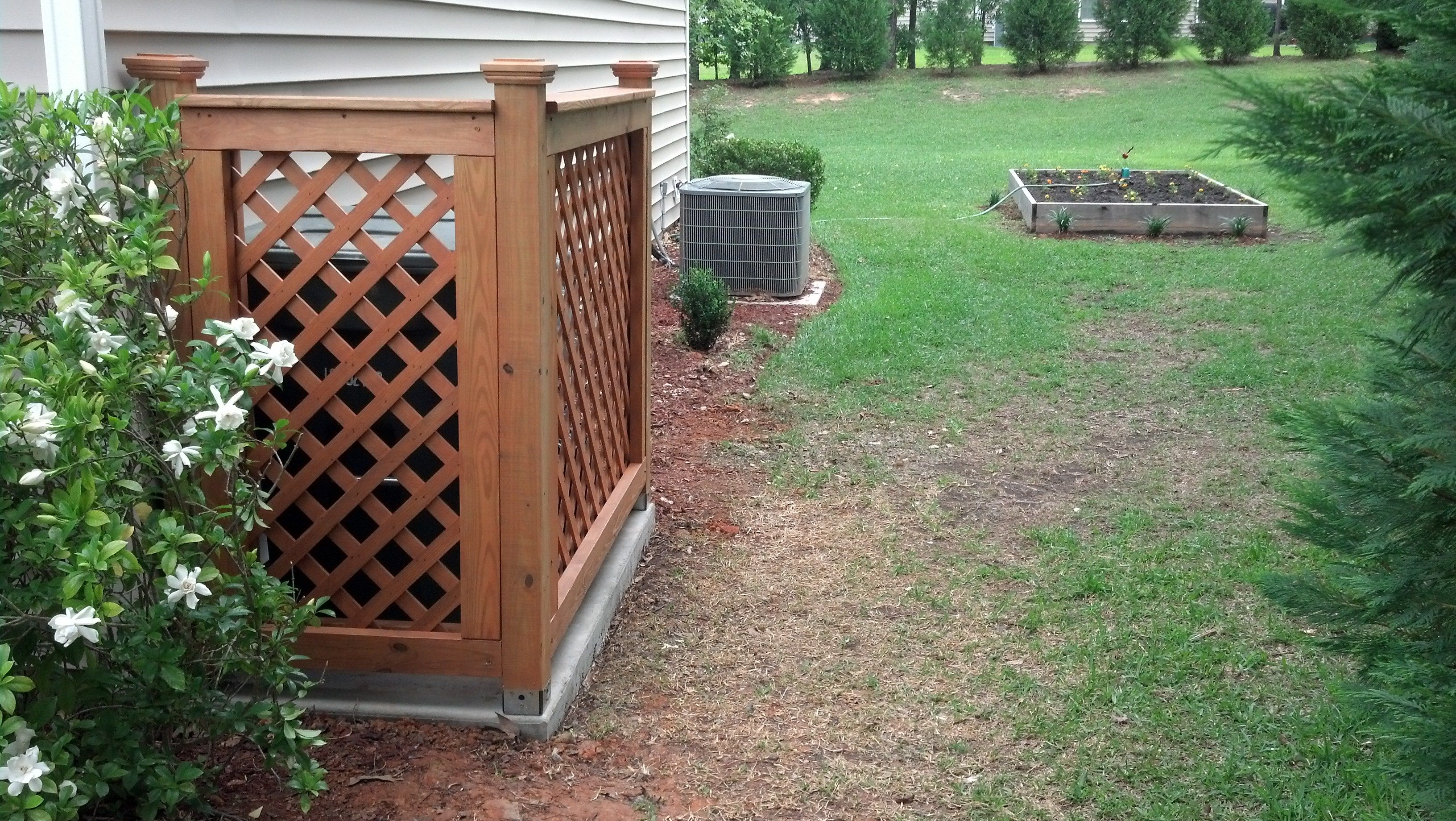 Pin by bill wooten on outdoor structures pinterest for Garden enclosures screens fences