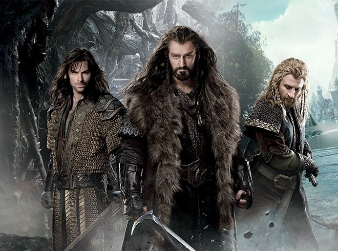 Kili  Thorin  and Fili...