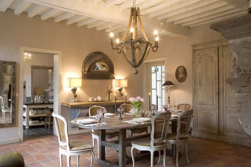 Dining Room Provence Style French Farm House Pinterest