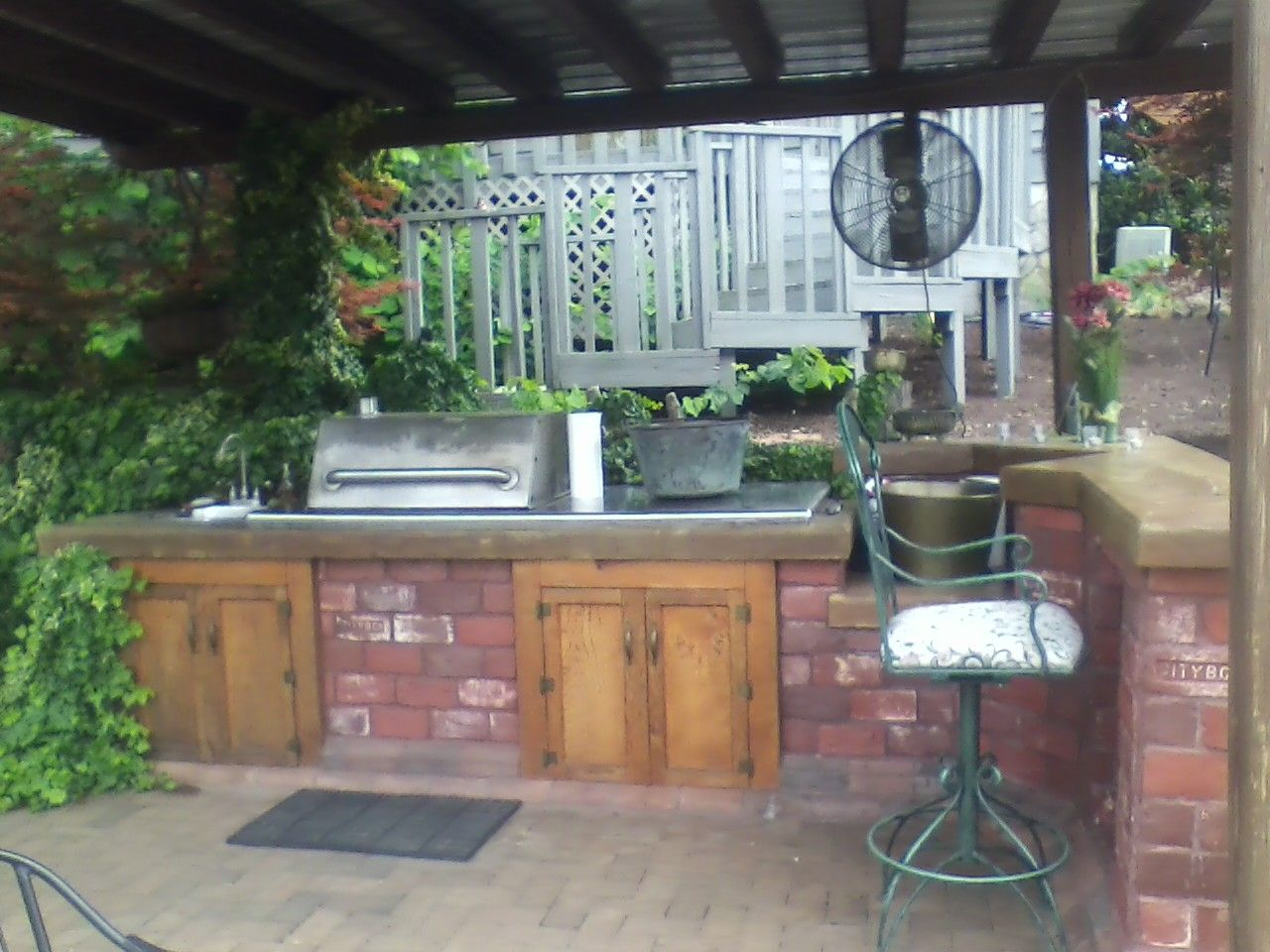 outdoor grill bar lake pinterest