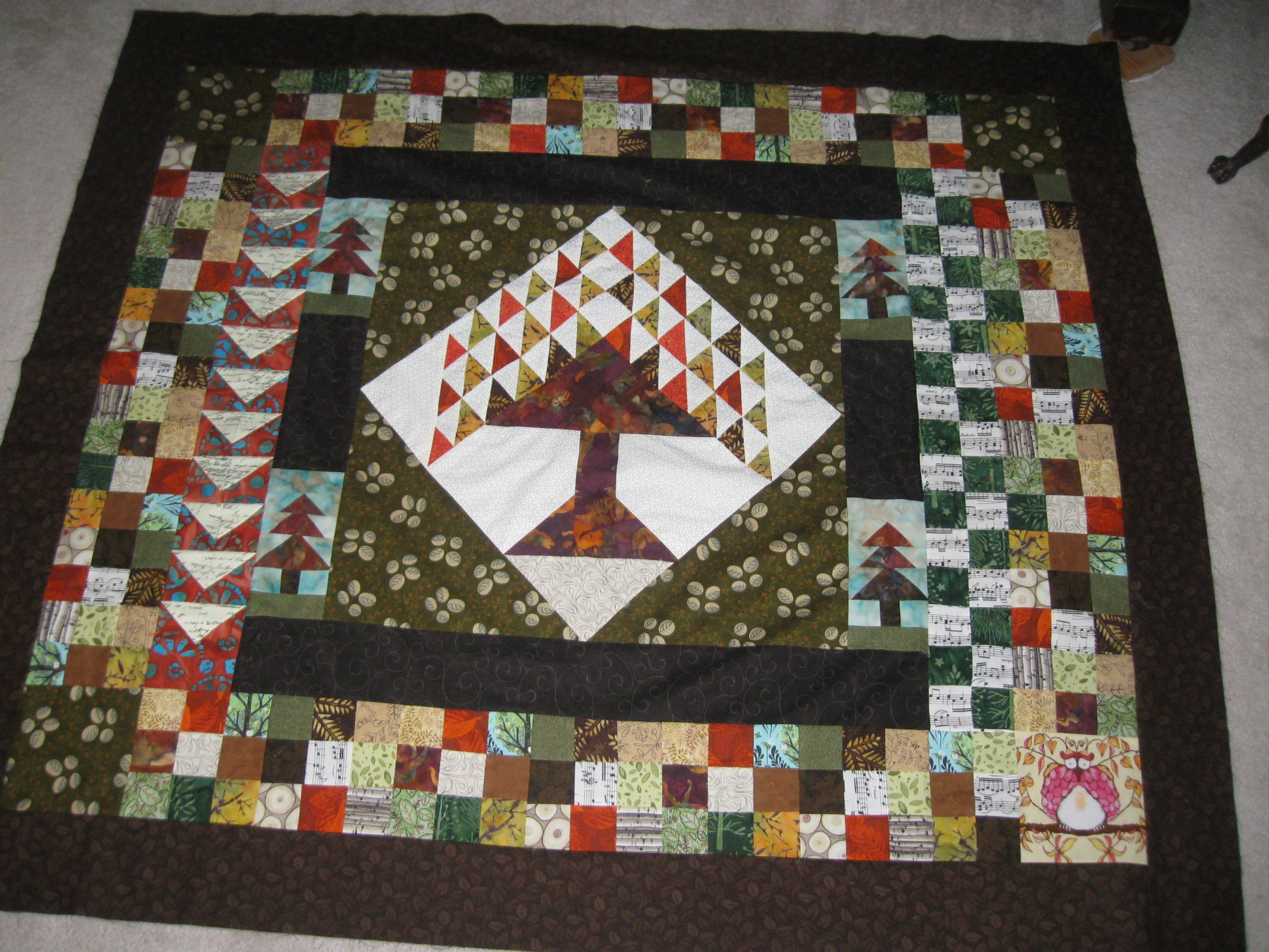 My tree of life quilt top. Quilts Pinterest
