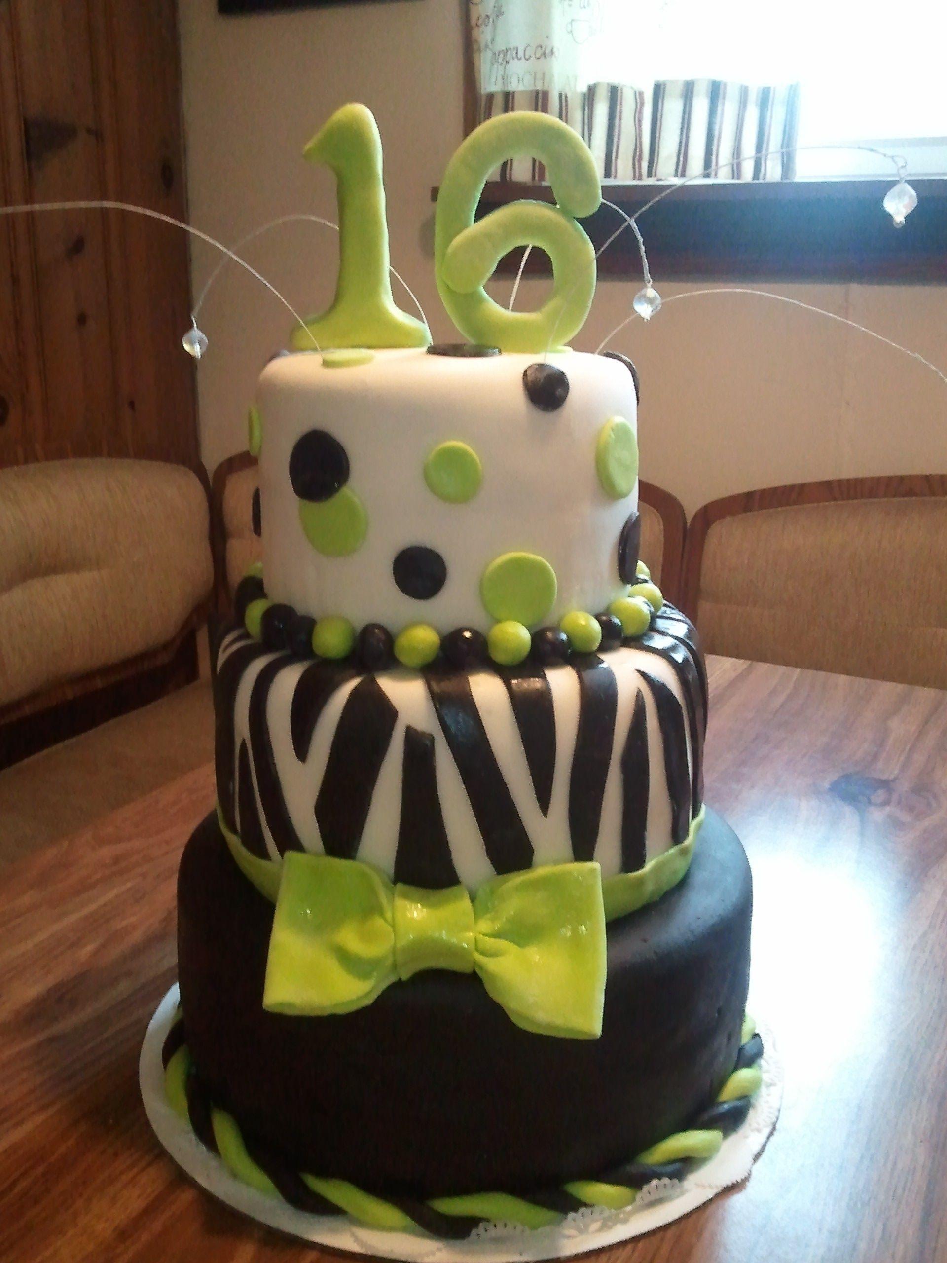 16 th birthday cakes