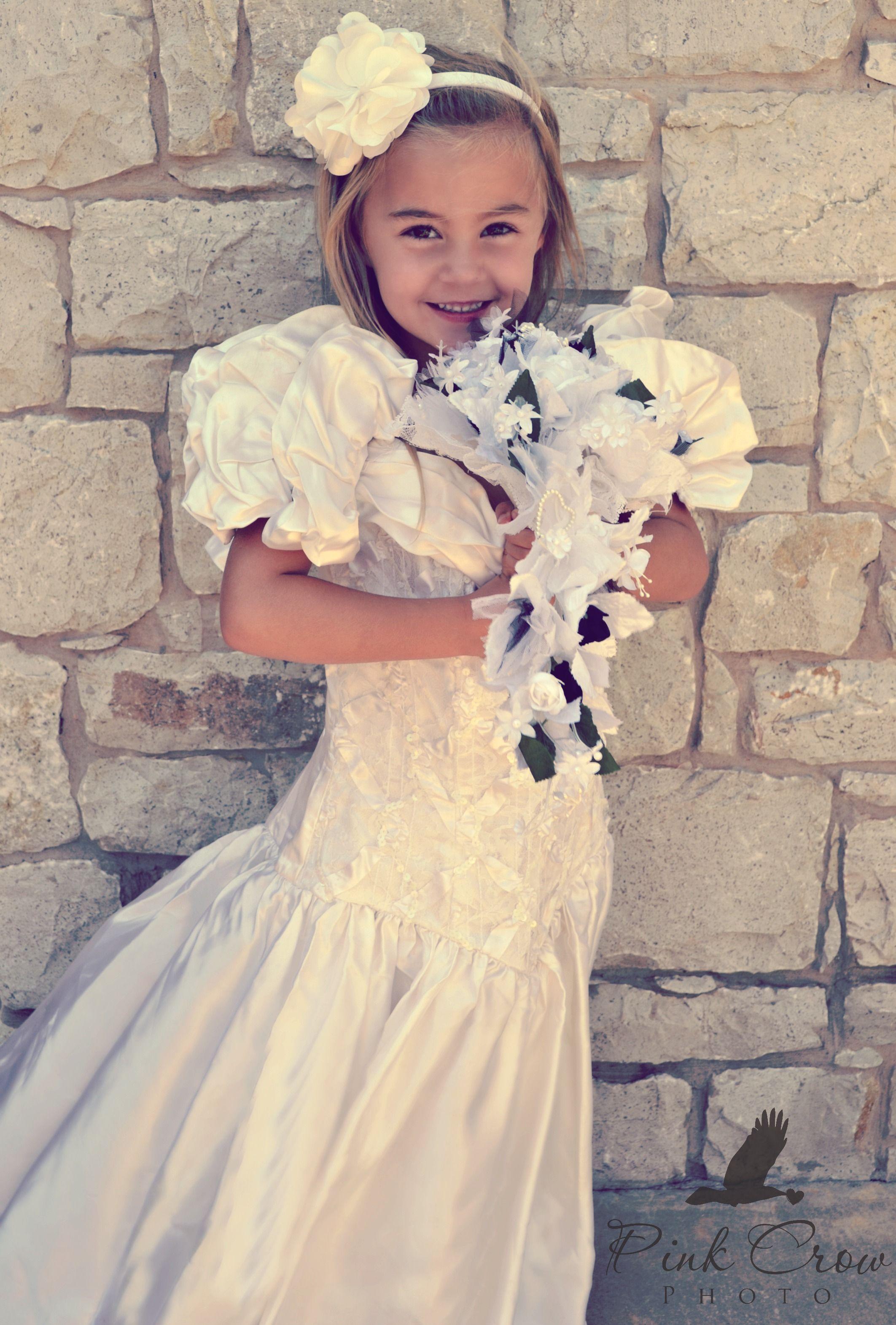 little girl in moms wedding dress hot girls wallpaper With little girl in wedding dress pinterest