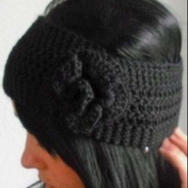 Crochet ear warmer Crochet & knitting Pinterest