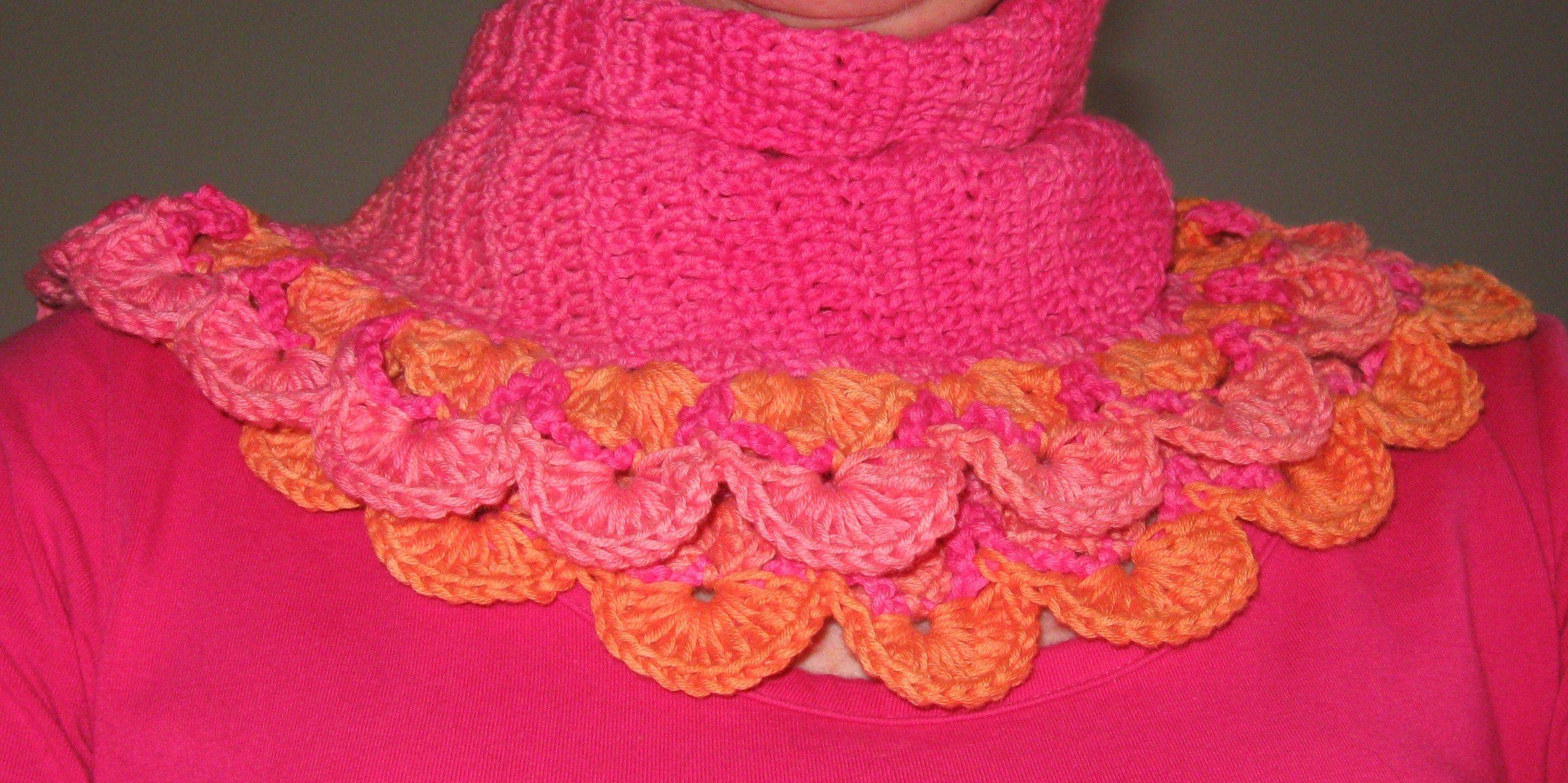 Crochet Work : Halve maan sjaal Crochet / My crochet work Pinterest