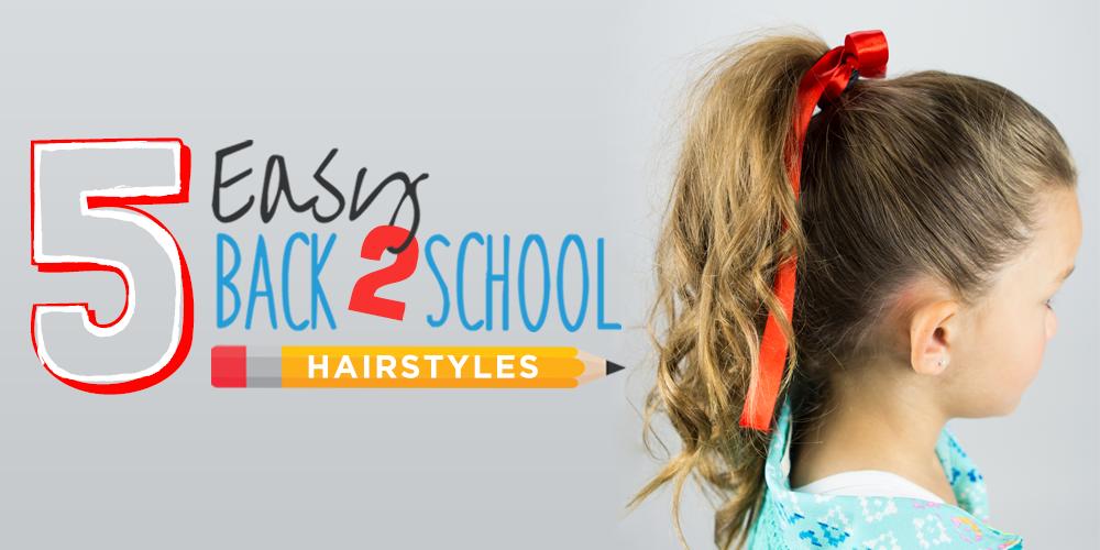 5 Easy Back To School Tutorials
