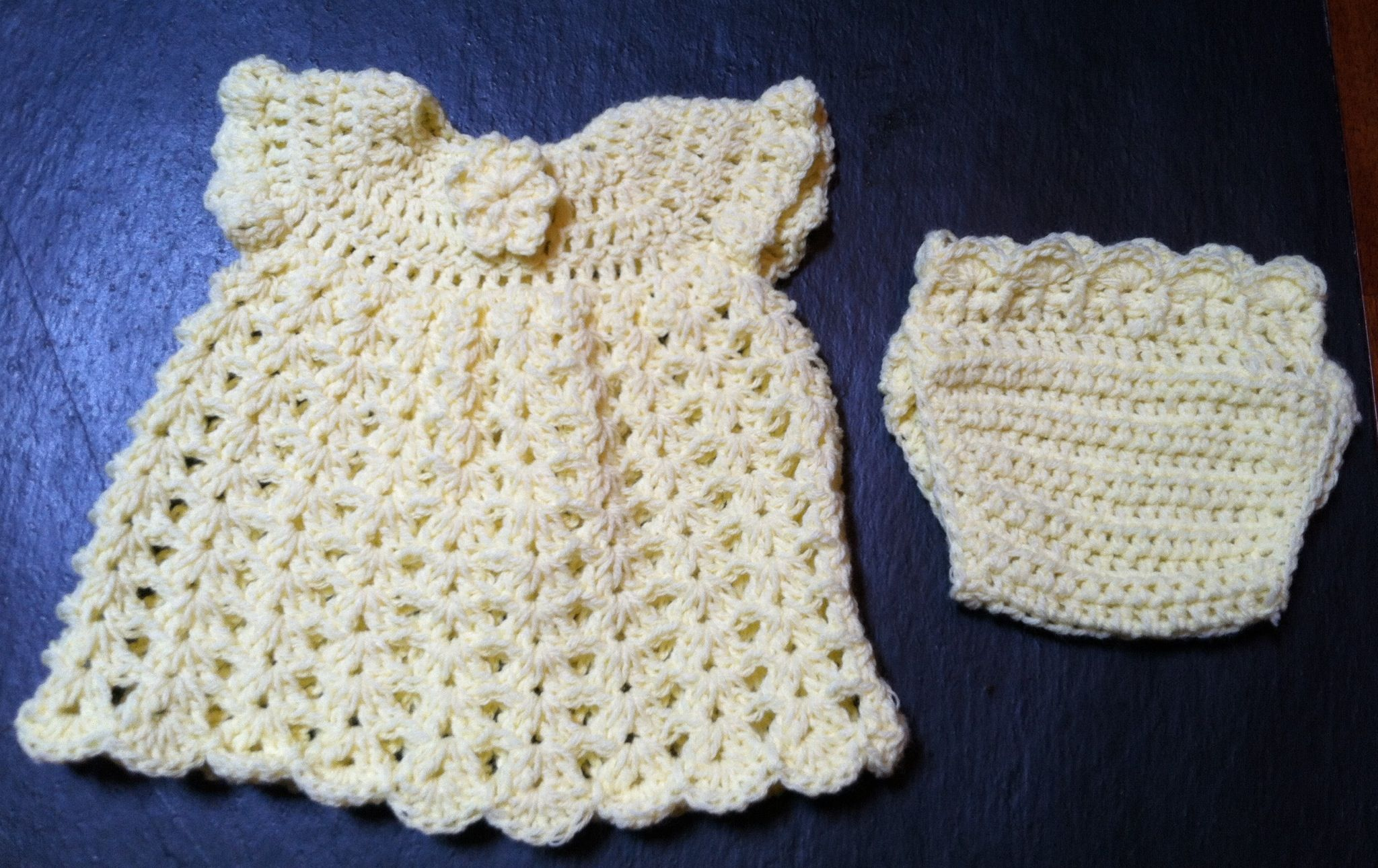 Free Crochet Angel Wing Dress Pattern : Crochet angel wing baby dress All Things Baby Pinterest