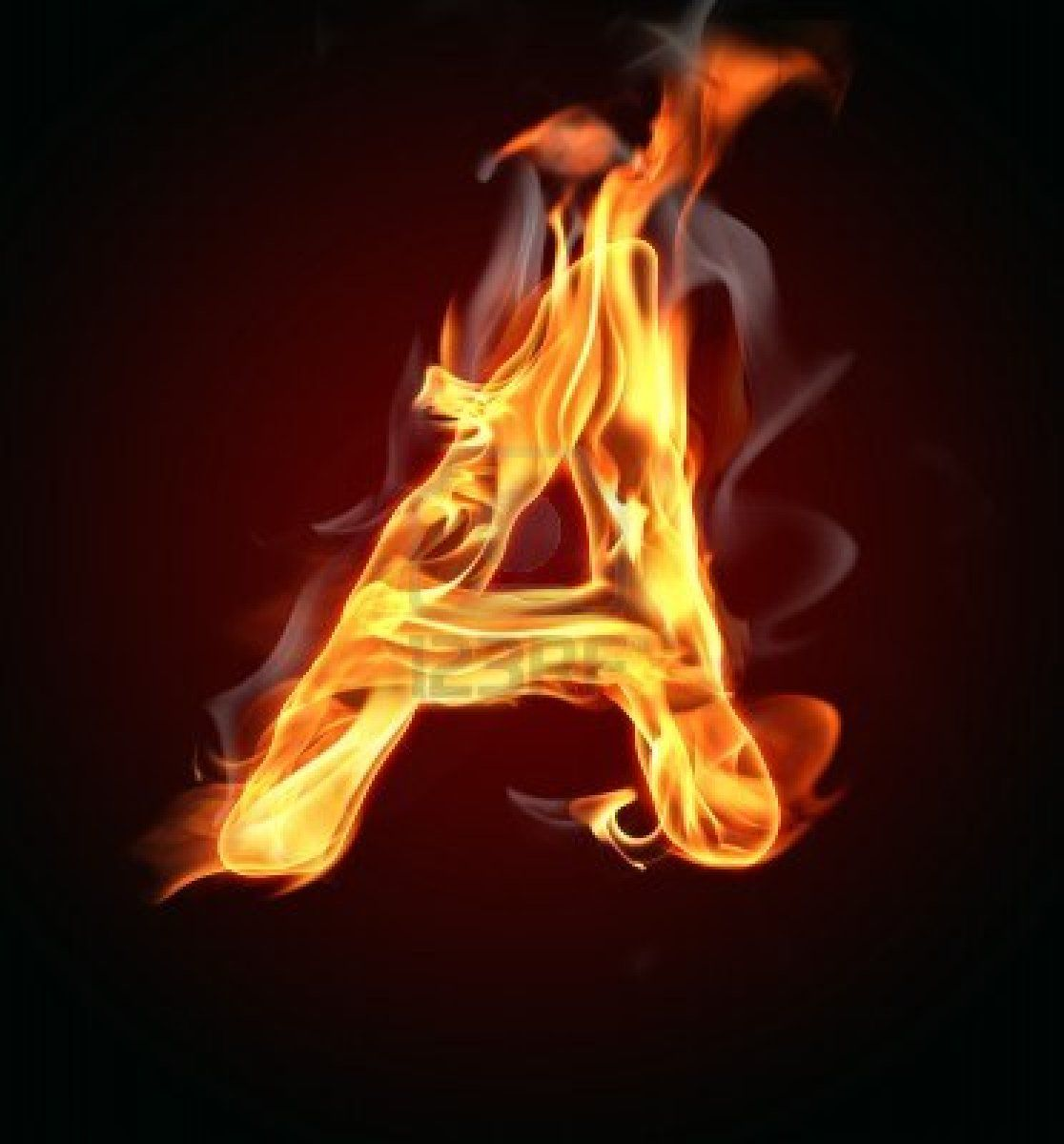 Atheist | Athei... H Letter In Fire Hd