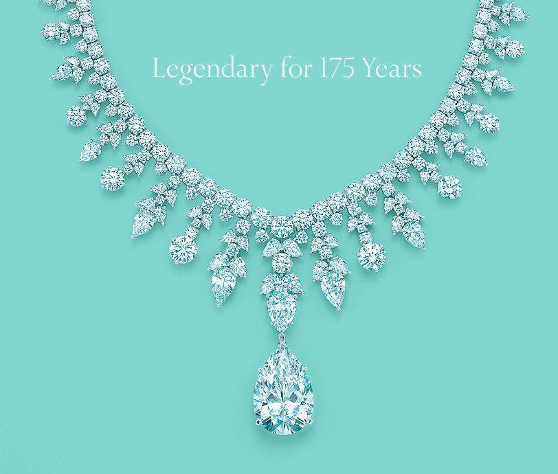 gorgeous tiffany diamond necklace simply jewelry pinterest