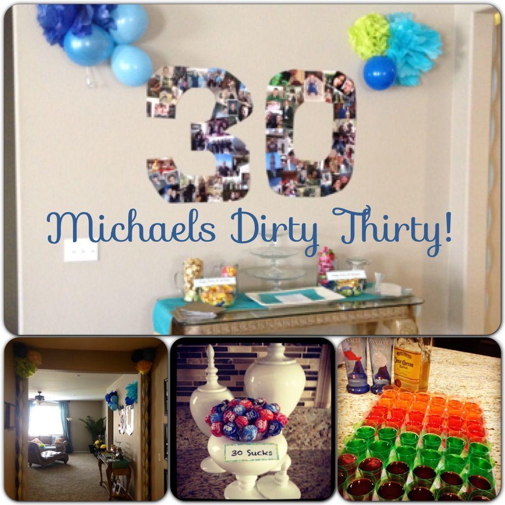Husband's Birthday Party
