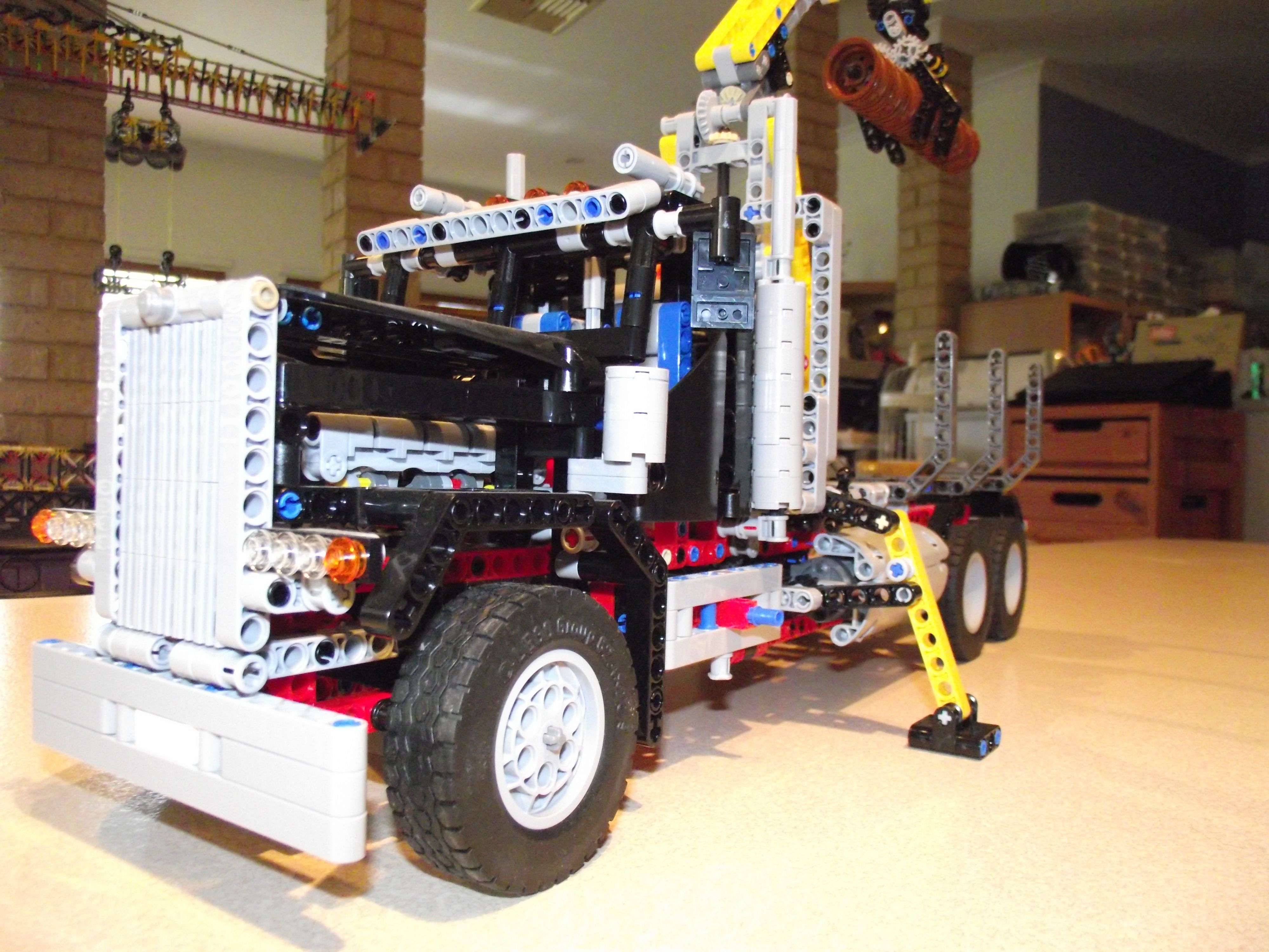 lego logging truck - photo #23