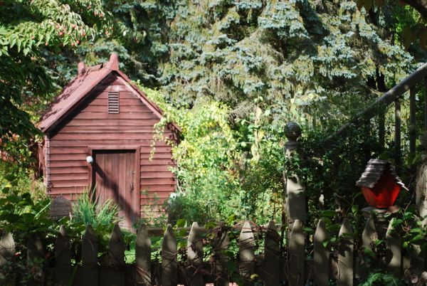 back yard garden house primitive garden ideas pinterest