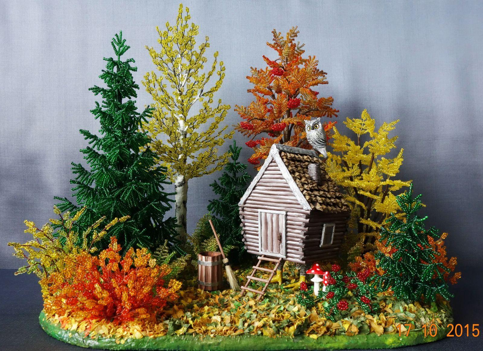 Поделки на тему золотая осень фото деревья 7