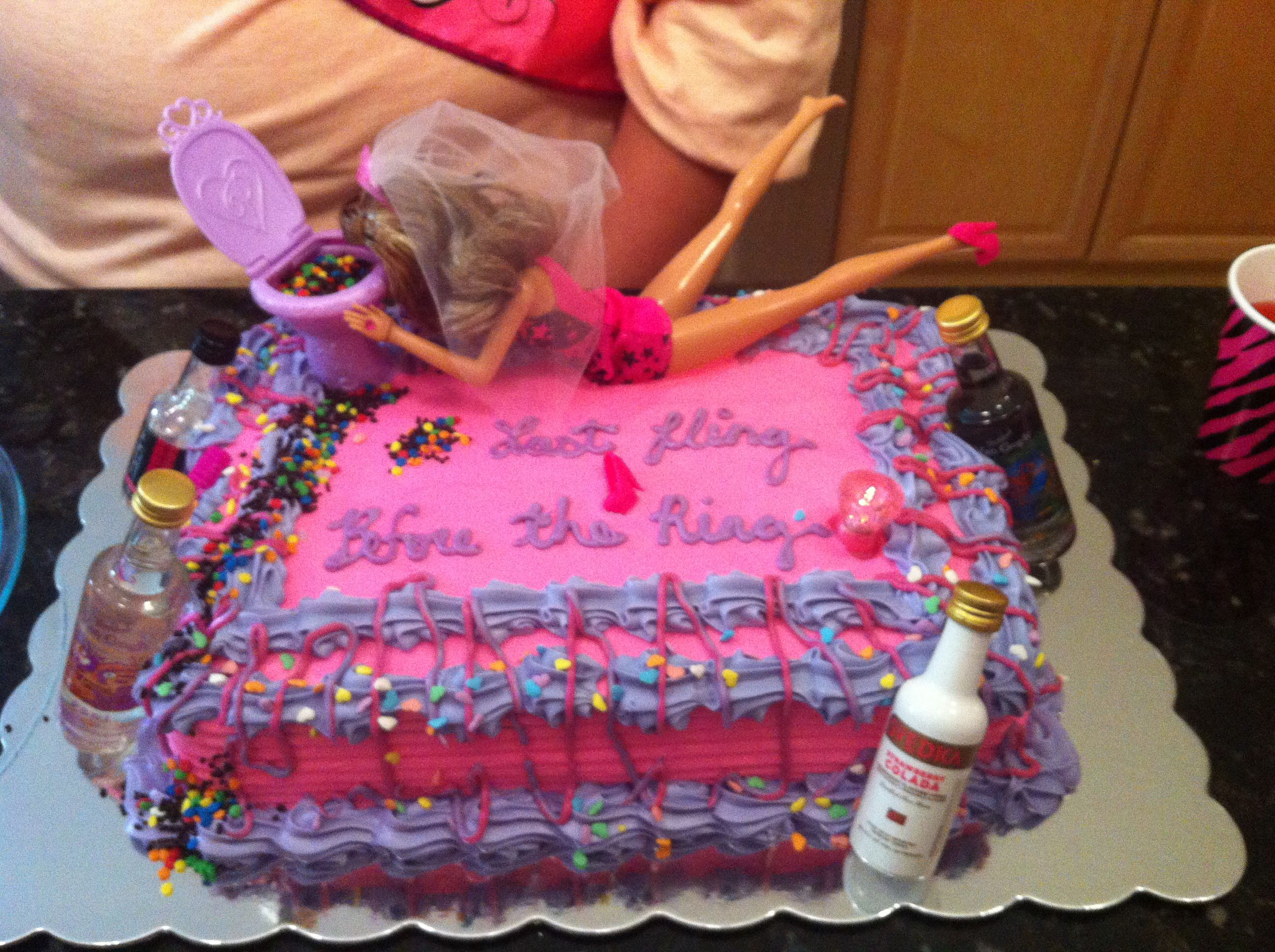 Drunk Barbie Cake Images : Drunk Barbie Cake Drunk Barbie Cakes ! Pinterest