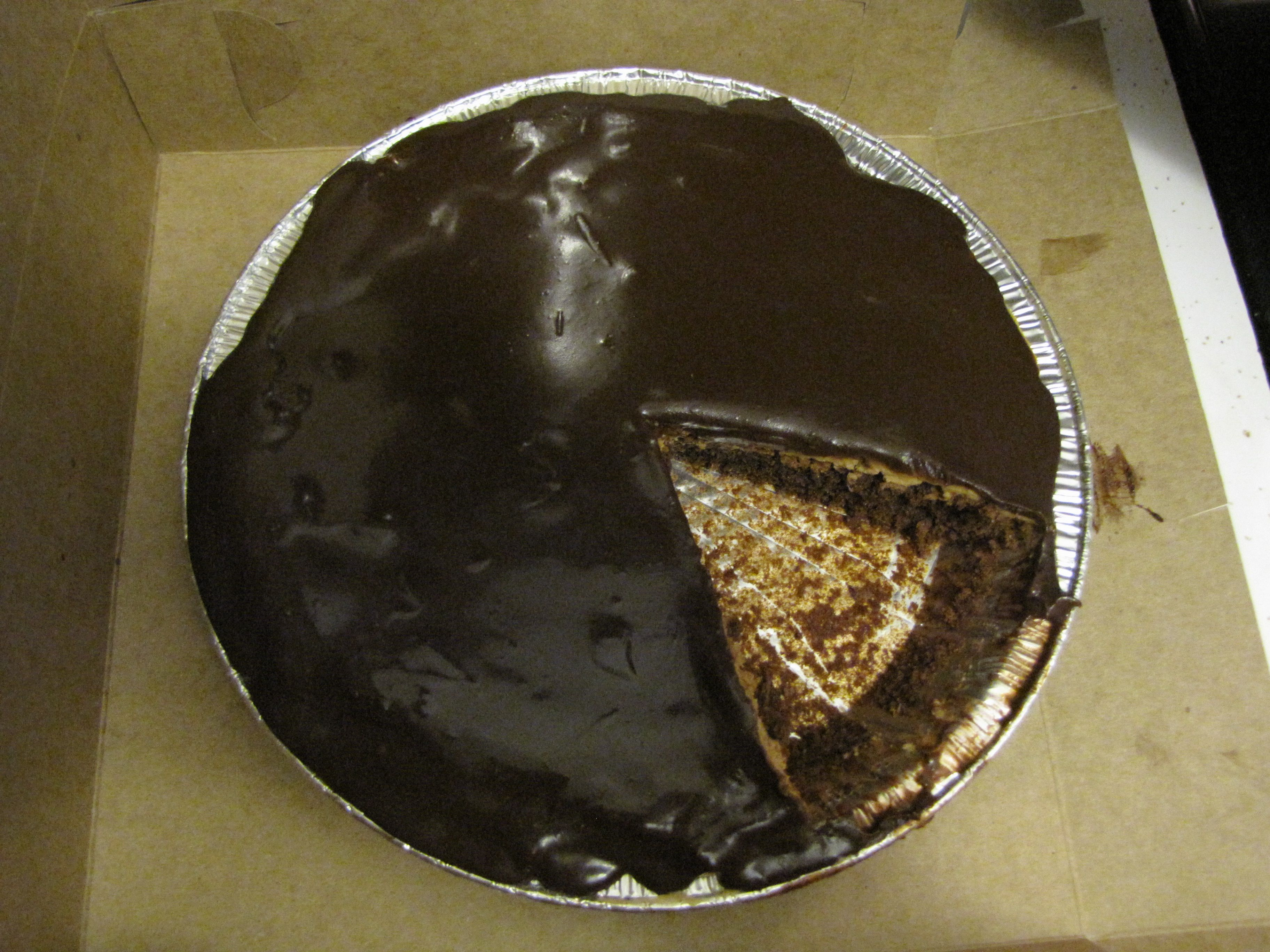 Chocolate and Peanut butter brownie pie | Food | Pinterest