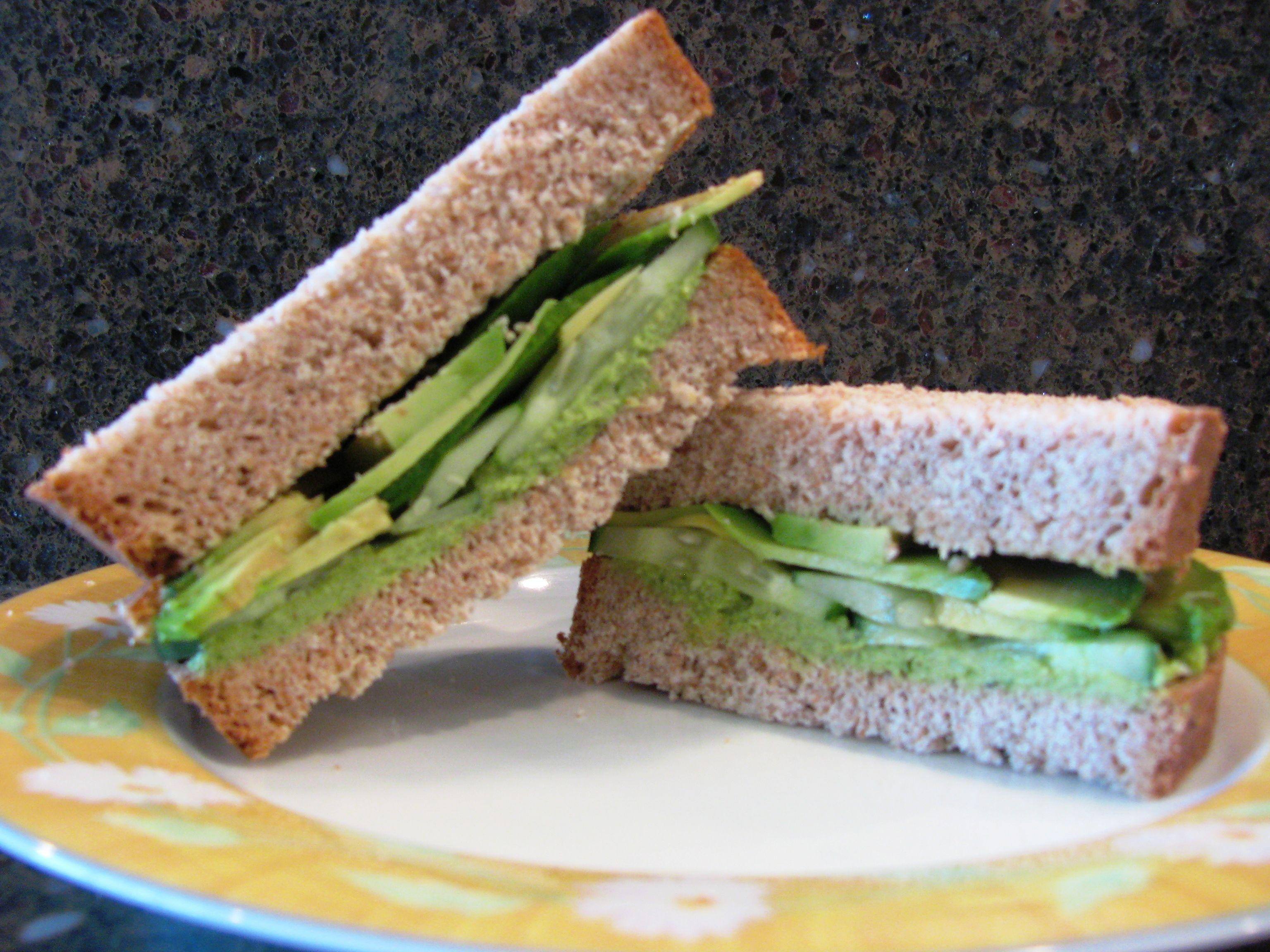 avocado sandwich | Food Cravings | Pinterest