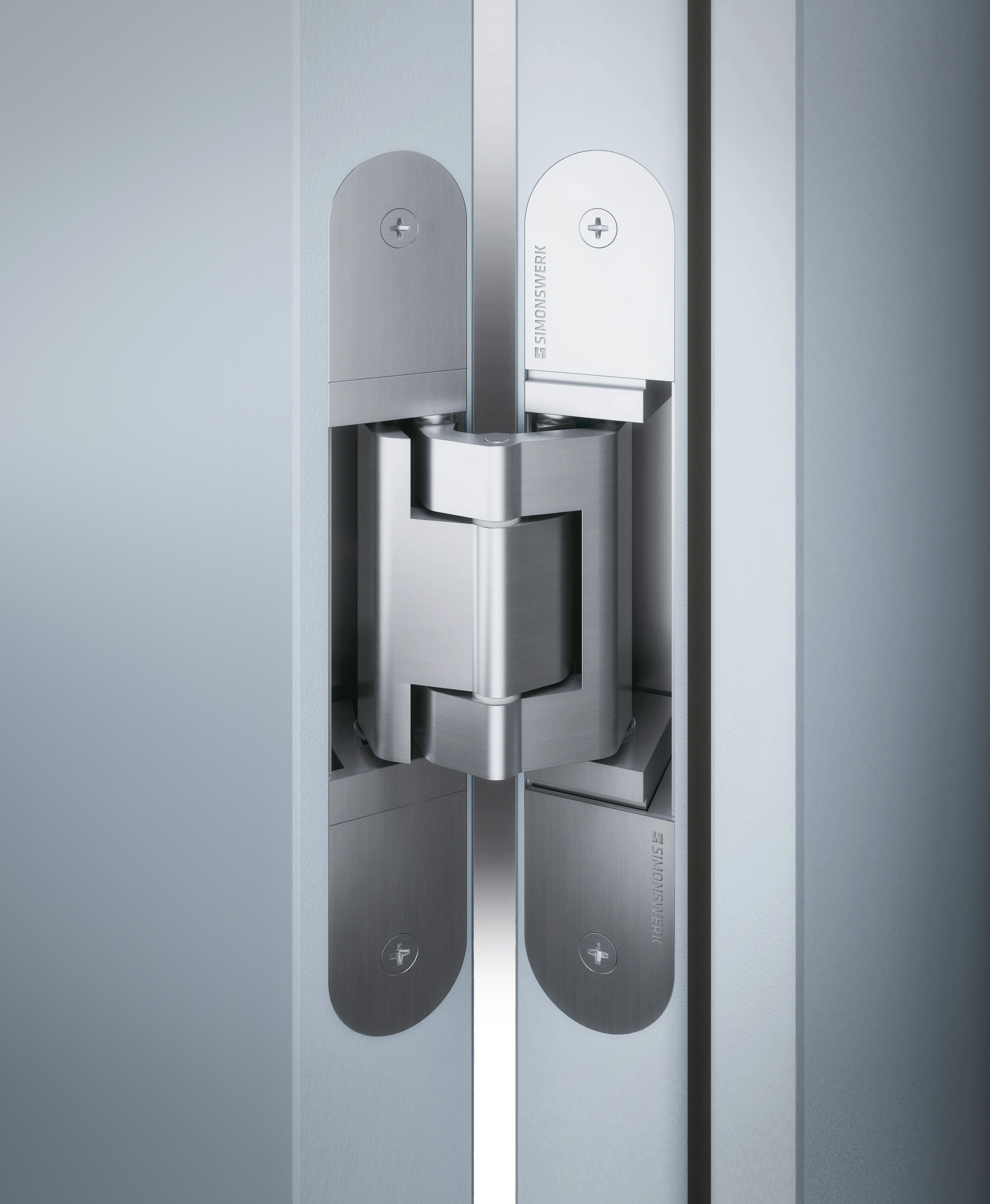 Tectus invisible hinges from simonswerk interior for Hidden hinges
