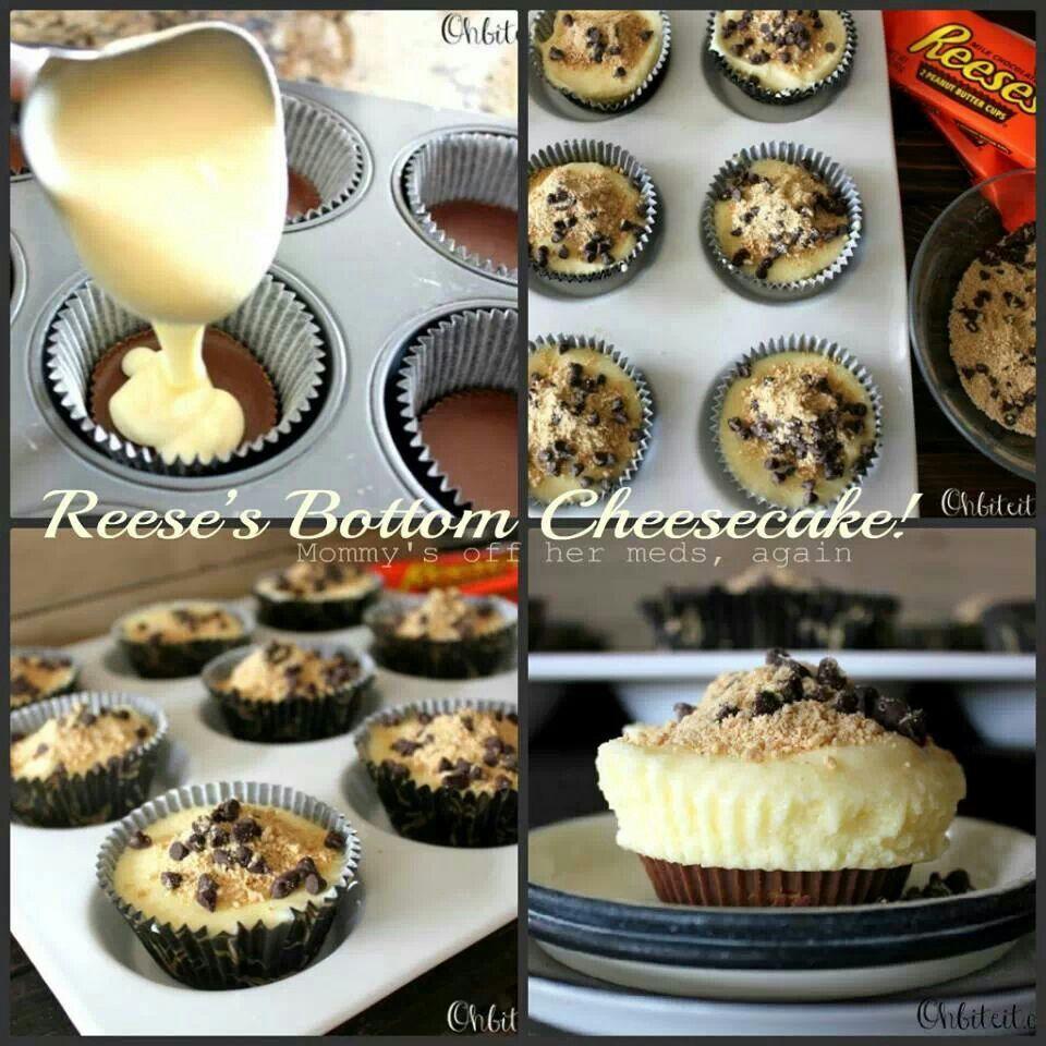 Reese's Bottom Cheesecake | I Dream of Cheesecake II | Pinterest