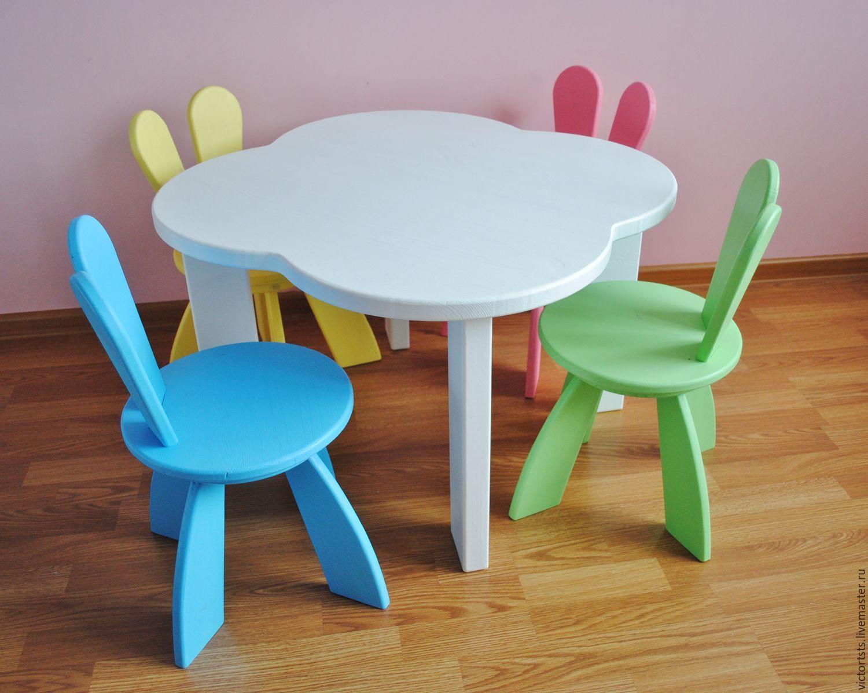 Как сделать детский стульчик-столик свои 868