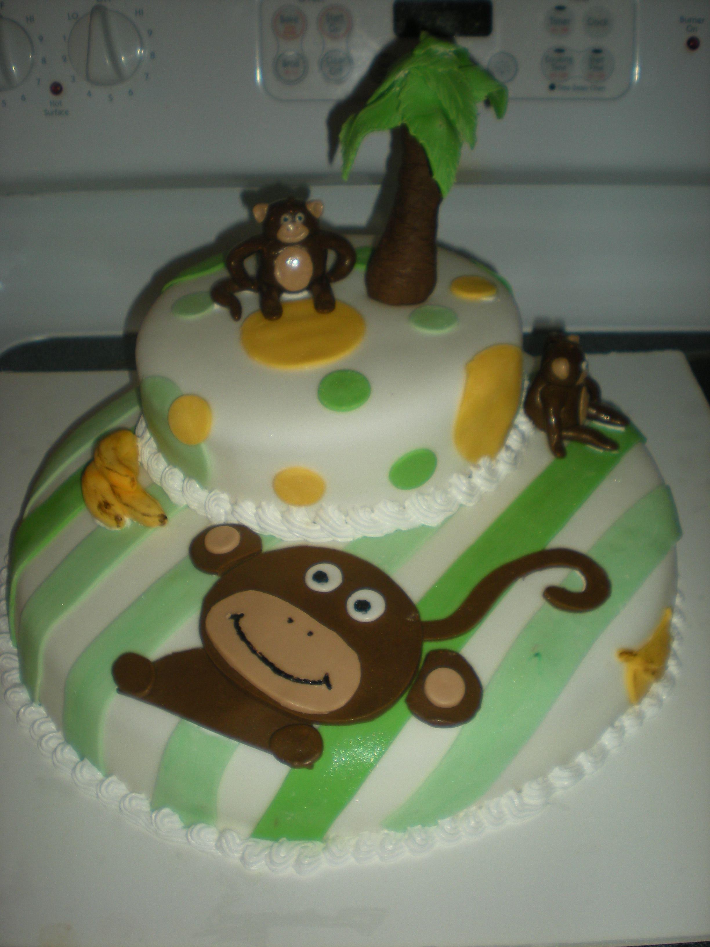 monkey boy baby shower cake monkey baby shower cakes pinterest