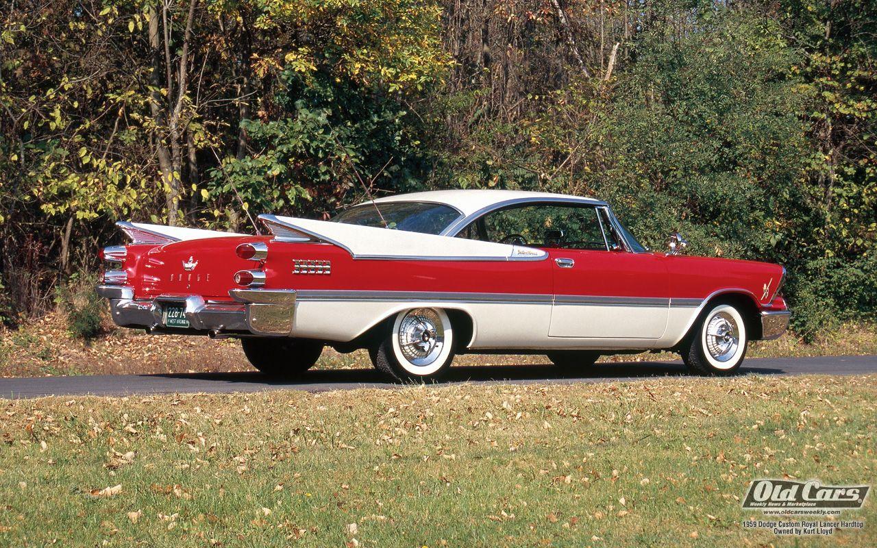 1959 dodge custom royal lancer cars american automobiles pintere
