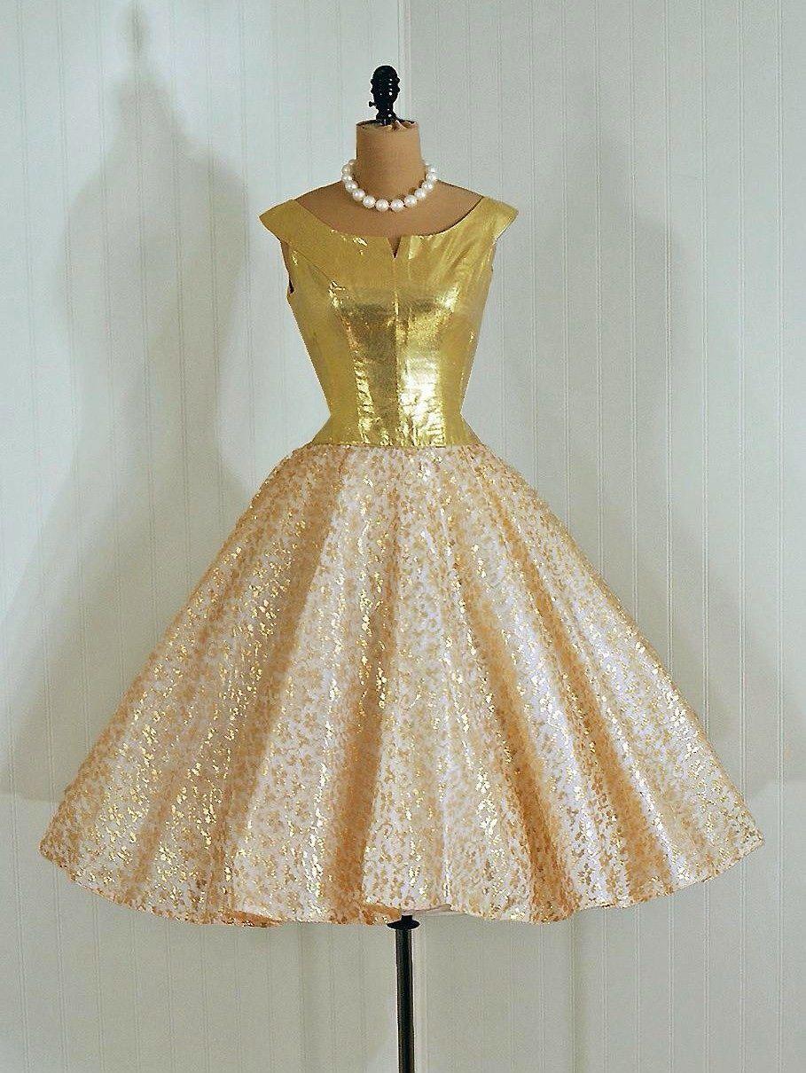 Party dress 1950s vintage vault pinterest