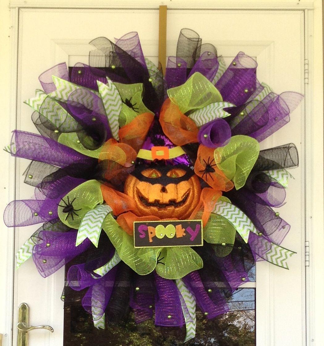 Deco Mesh Wreath Ideas