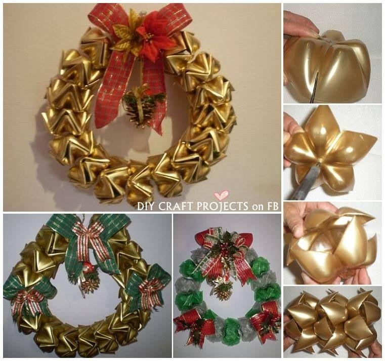 Plastic Christmas Wreaths