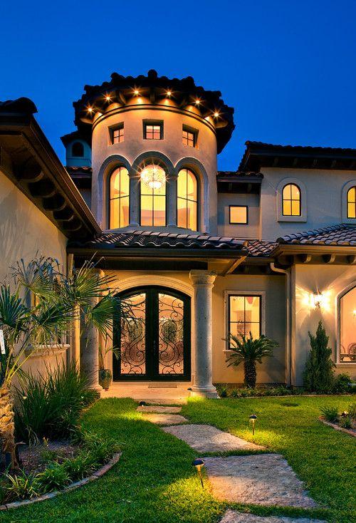 Exterior spanish style beautiful homes pinterest - Spanish style homes exterior ...