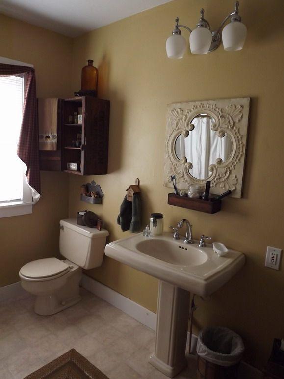 Master Bathroom My Primitive Decor New Home Pinterest
