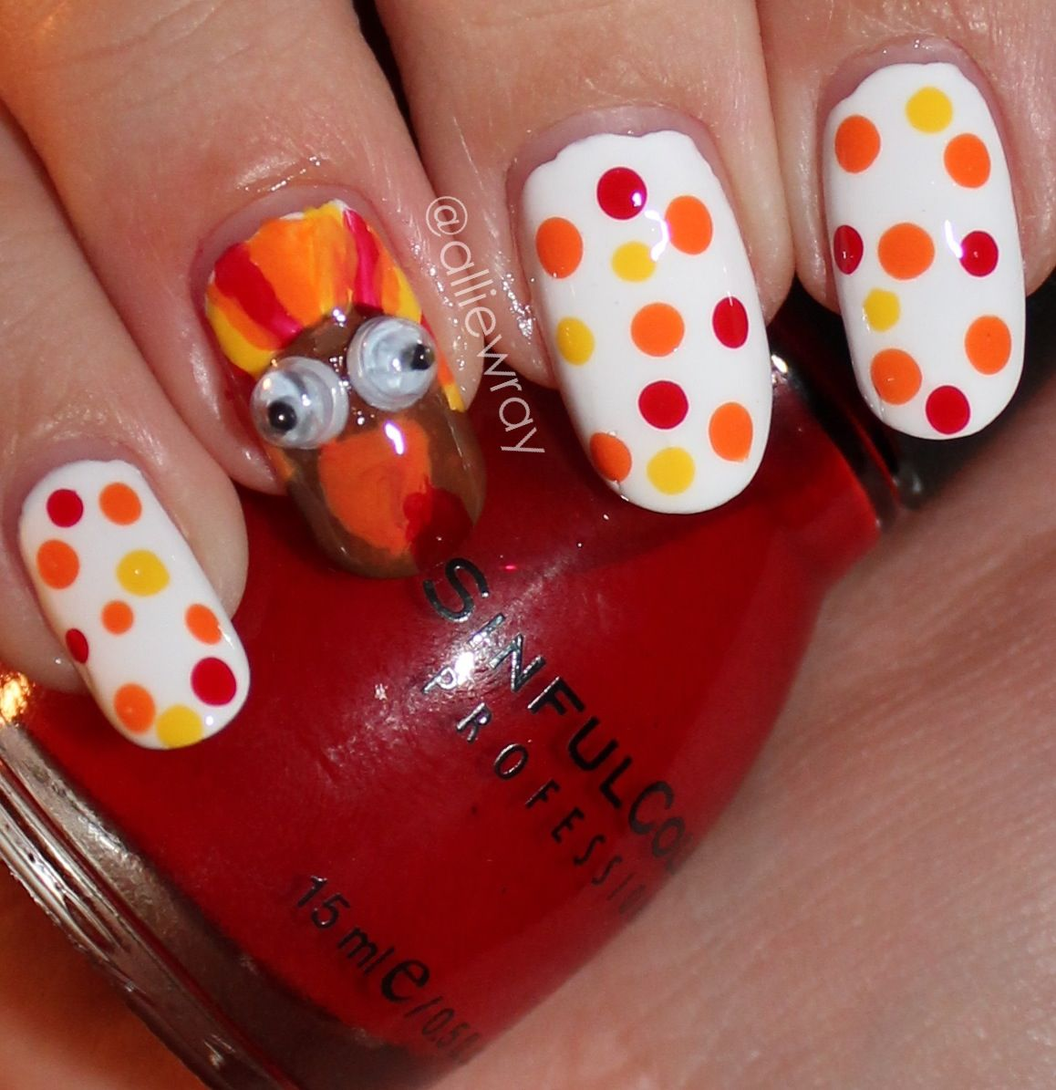 Thanksgiving Nails | Nail Obsession | Pinterest