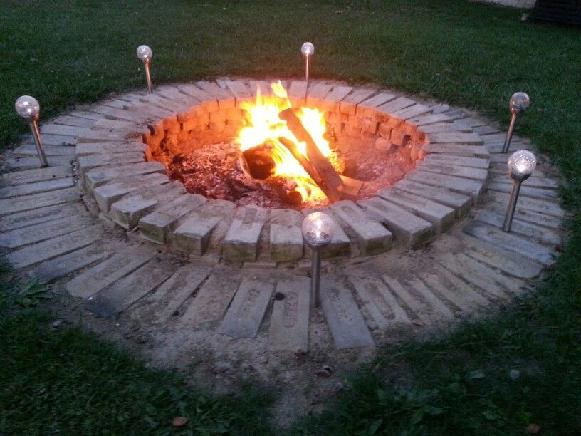 Diy Bon Fire Pit Backyards