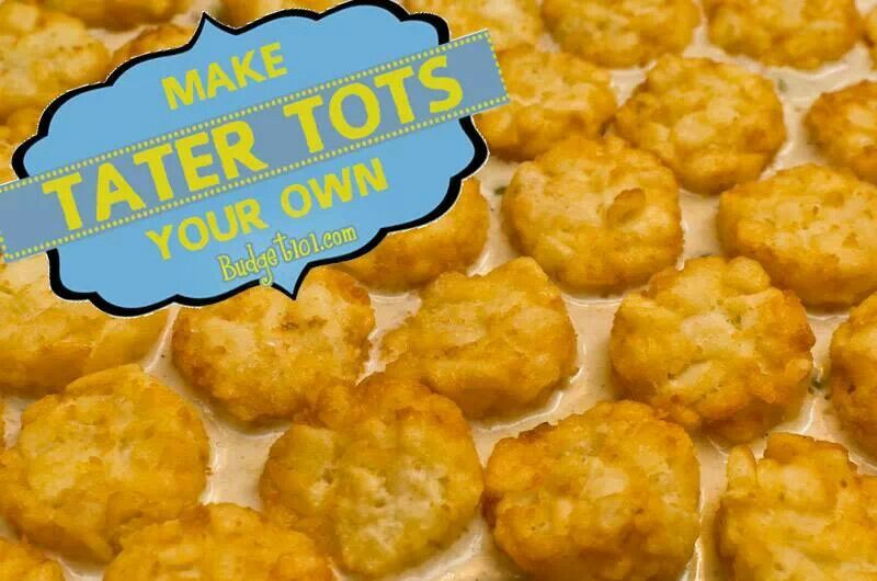 Homemade tater tots!! | Food and Drinks | Pinterest