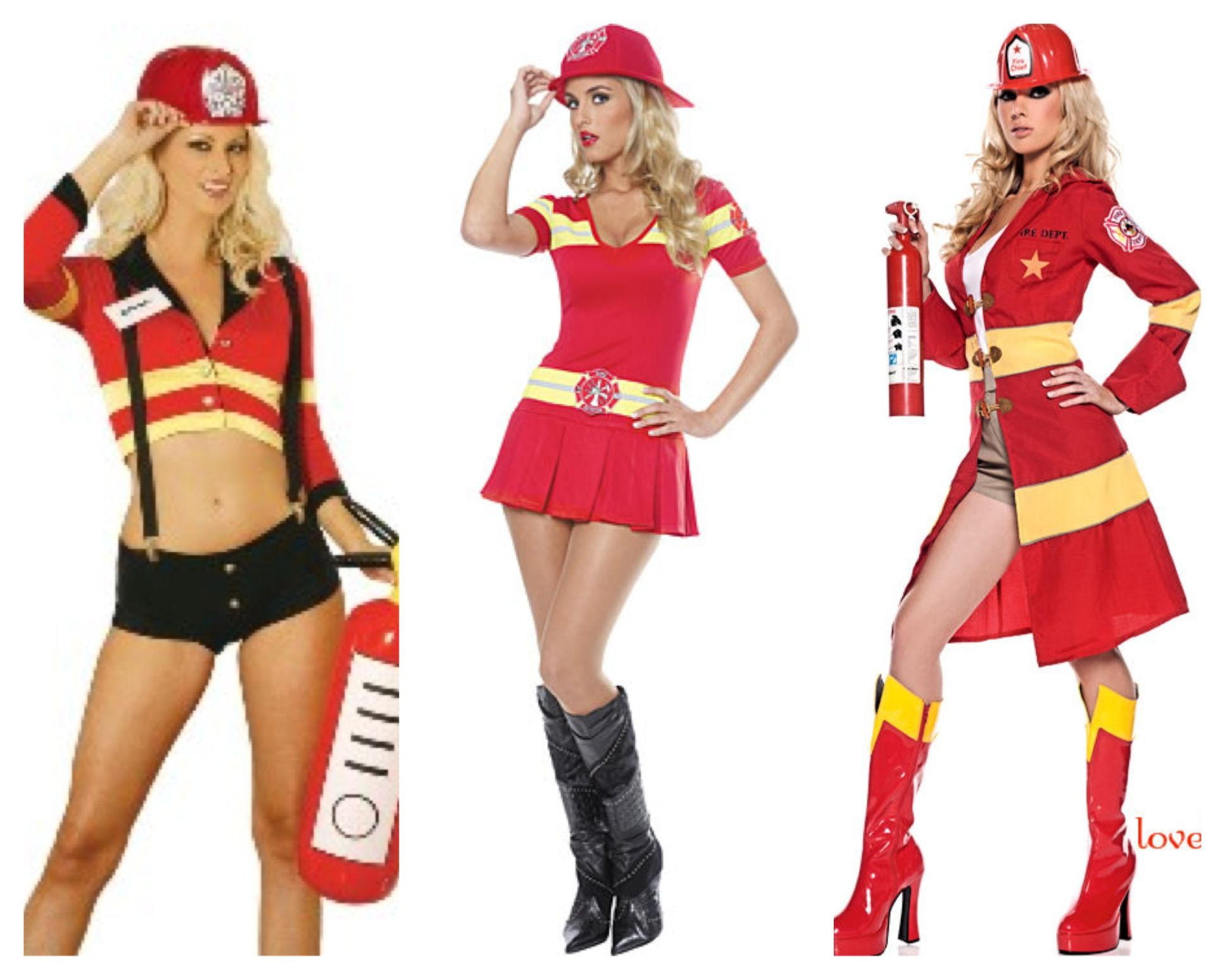 size firefighter costume Plus