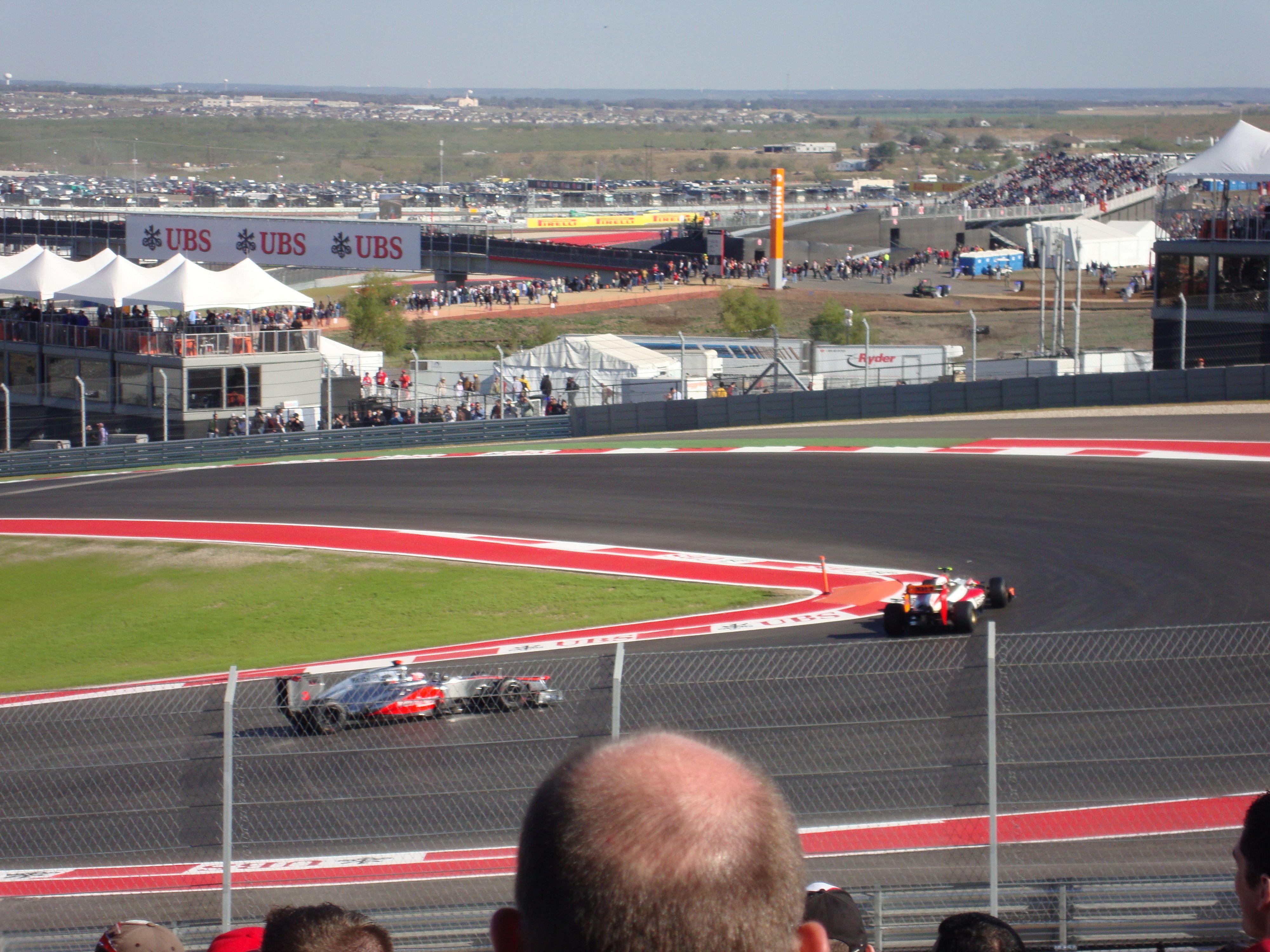 austin formula 1 race track map