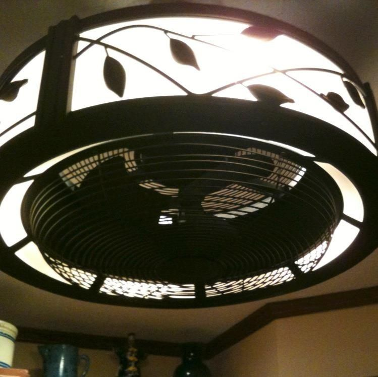 Kitchen ceiling fan home pinterest - Ceiling fan for kitchen with lights ...