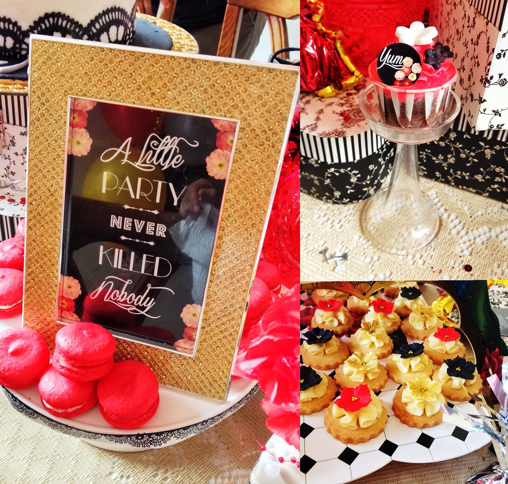 Gatsby theme party dessert table amp candy bar