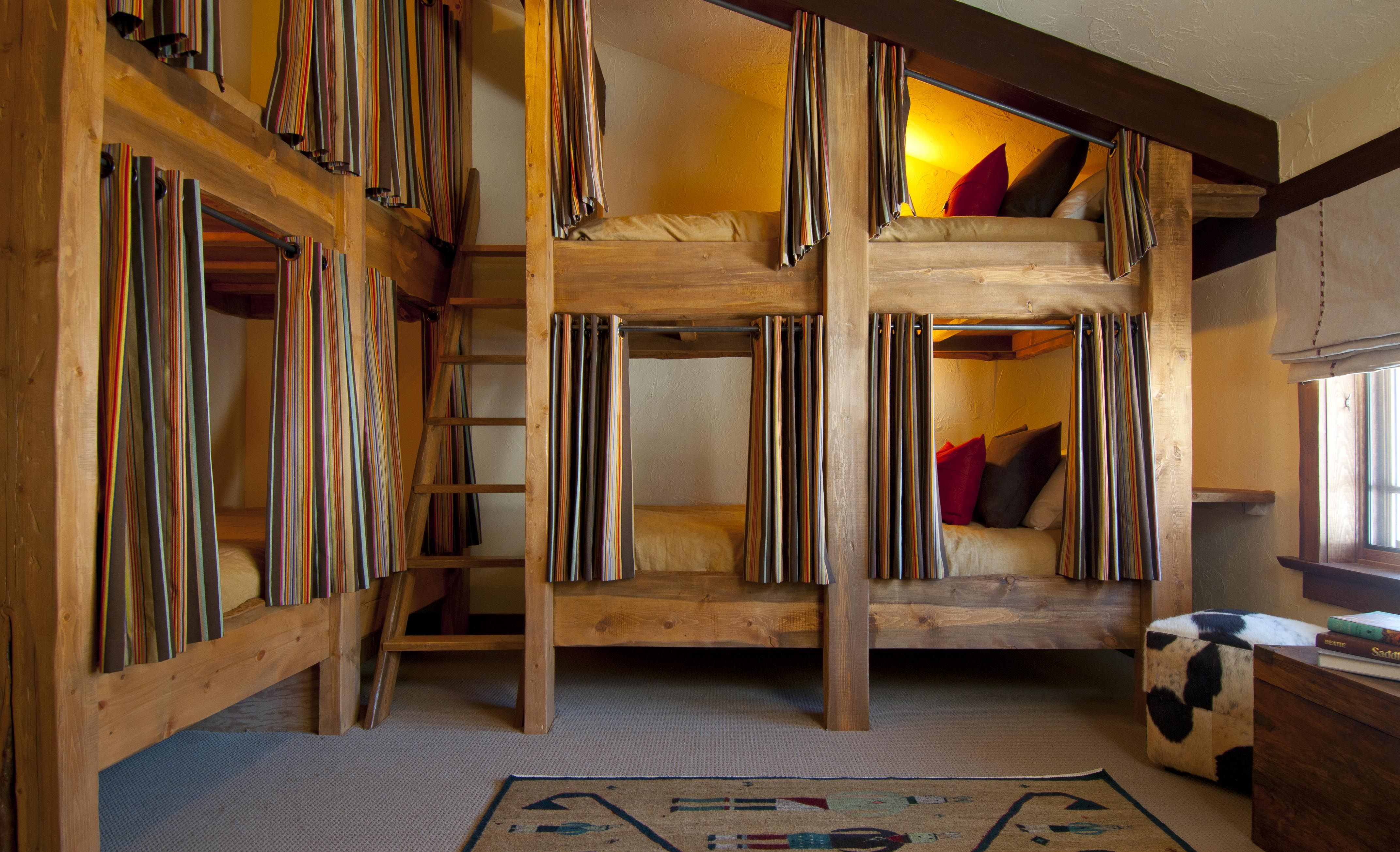 Pinterest for How to build a bunk room