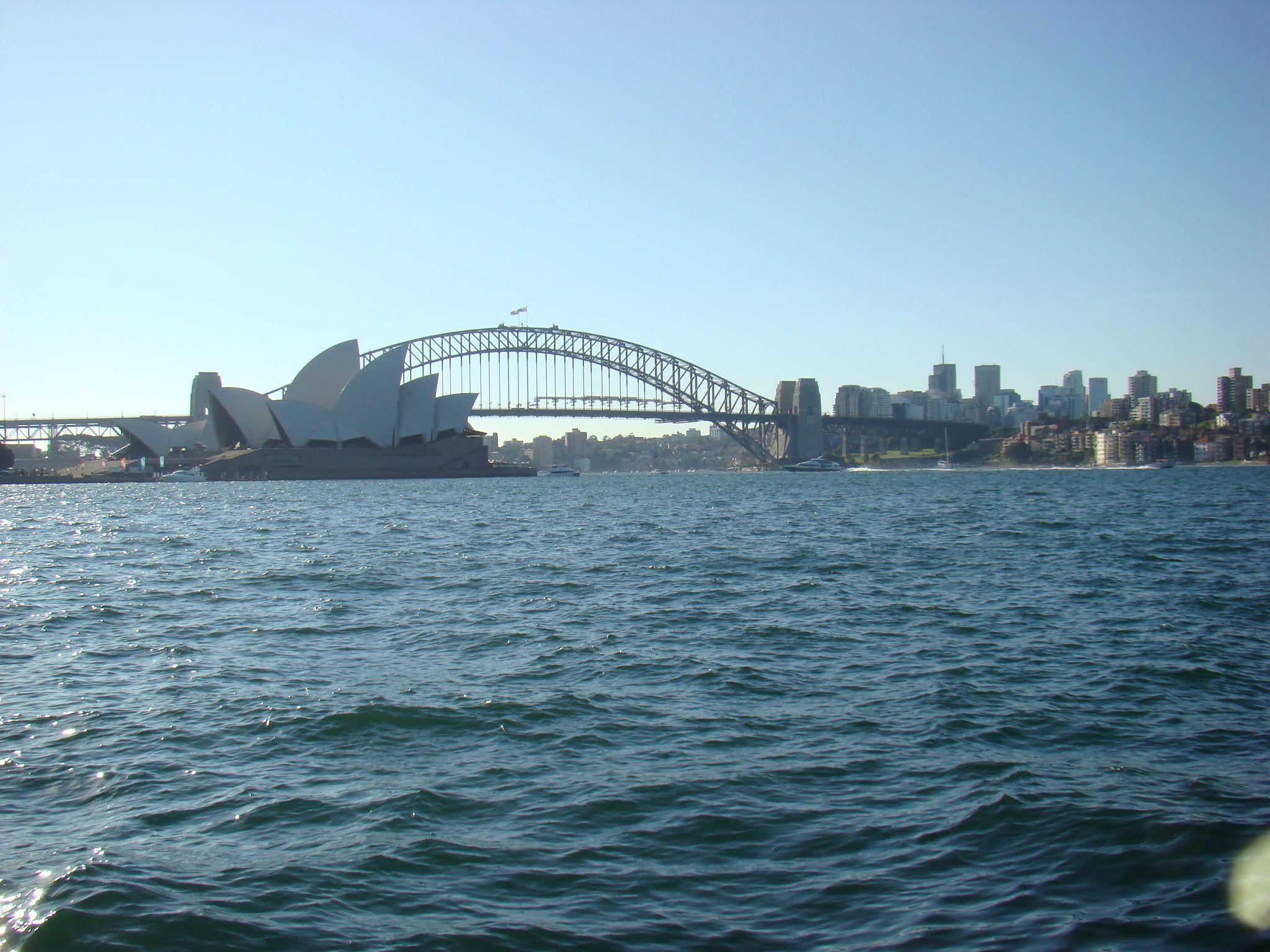 Sydney // Australien - Opernhaus & Habour Bridge