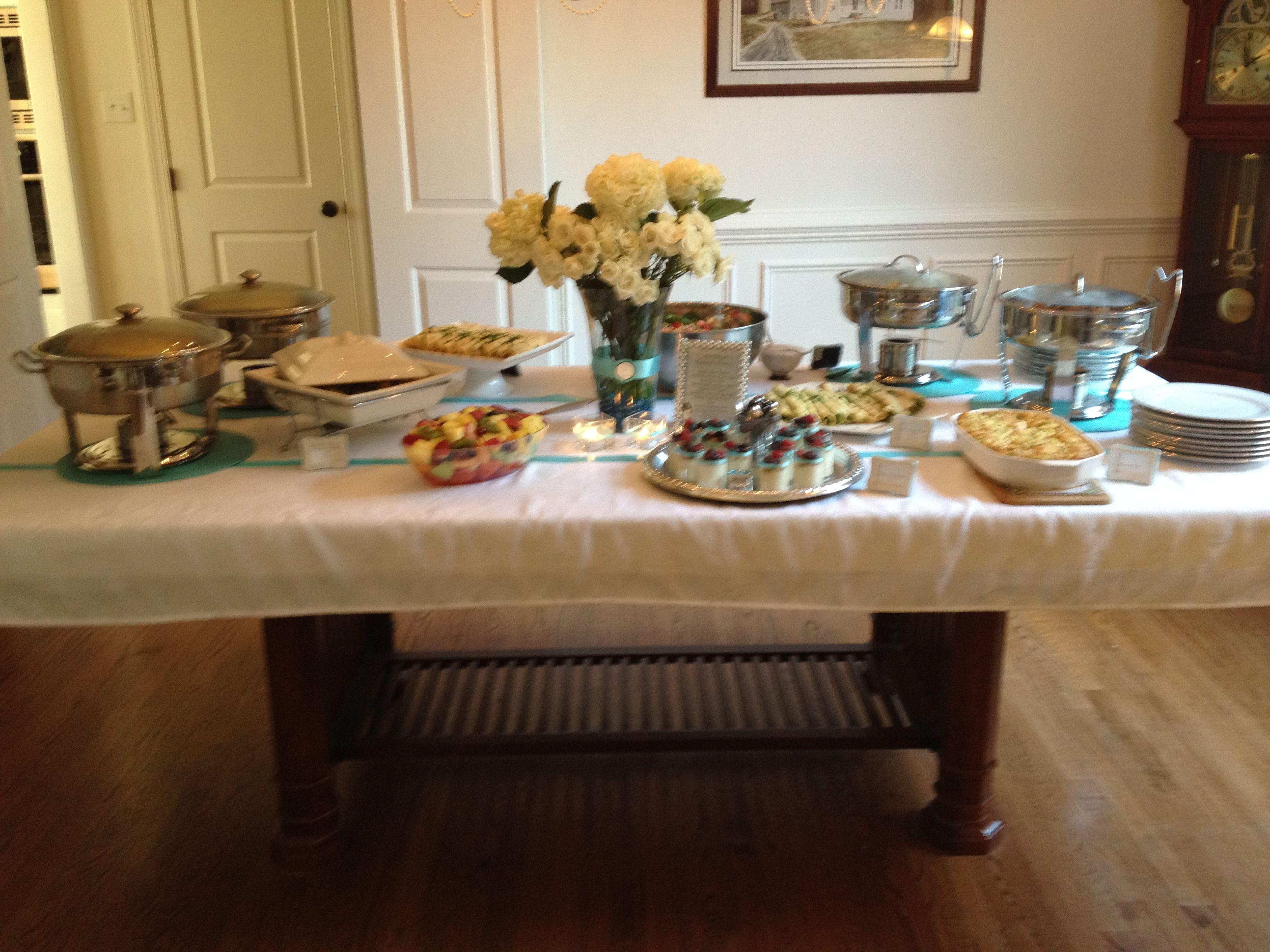 Buffet set up celebration tablescapes buffets pinterest
