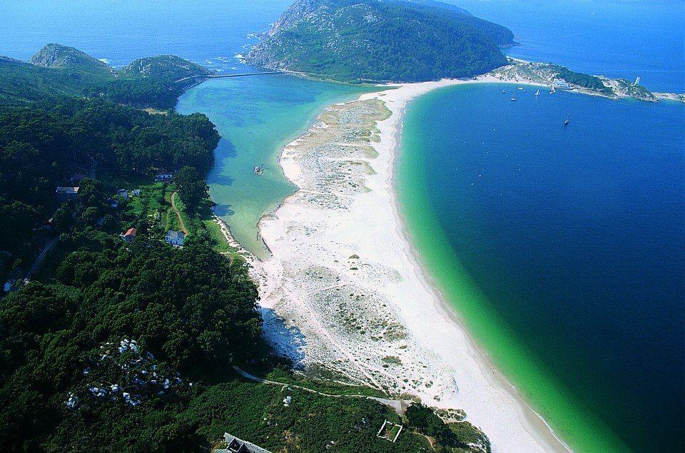 Islas Cies Galicia  places my land galicia spain  Pinterest
