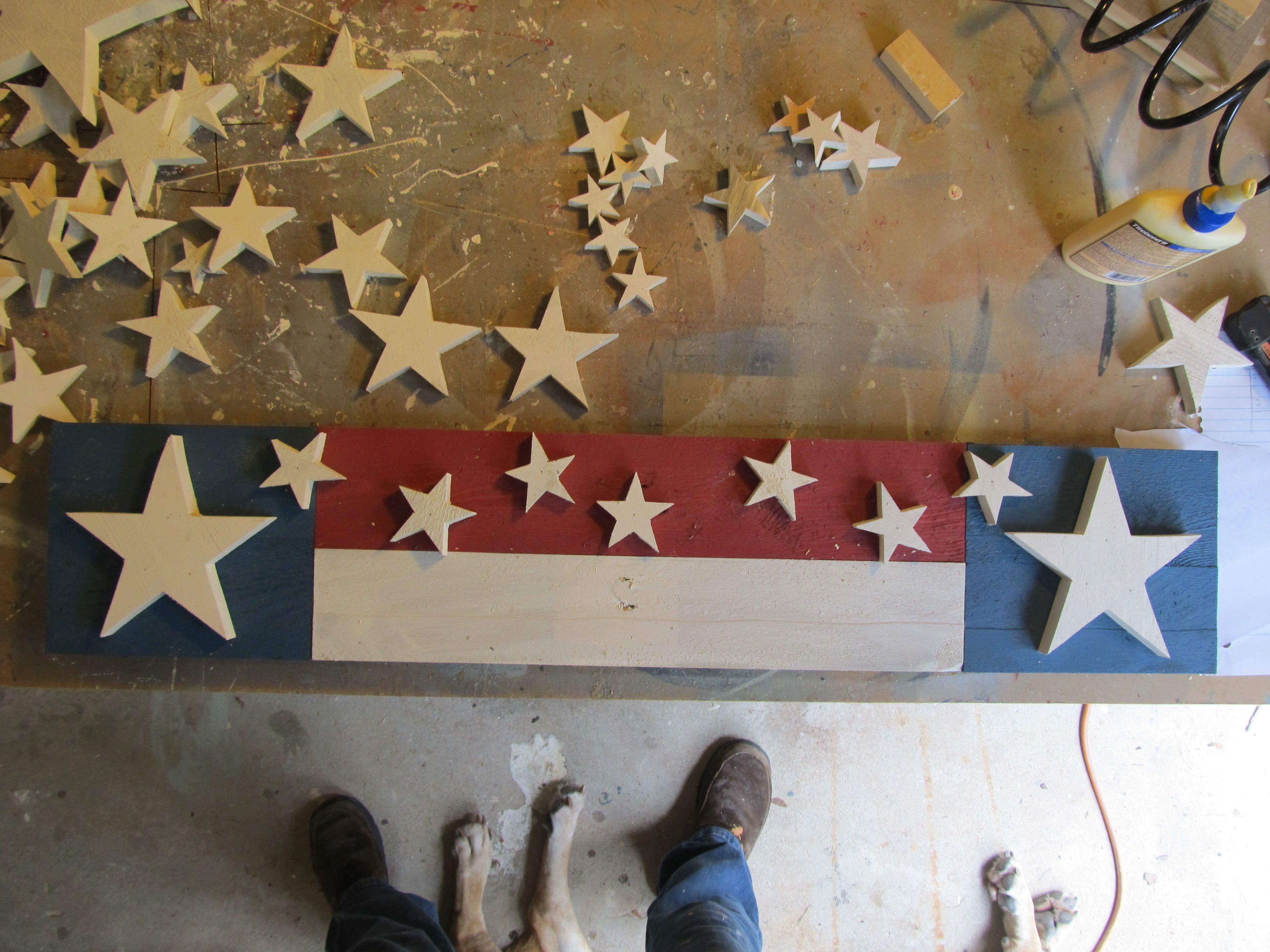 Patriotic Wall Decor Americana And Patriotic Items Made