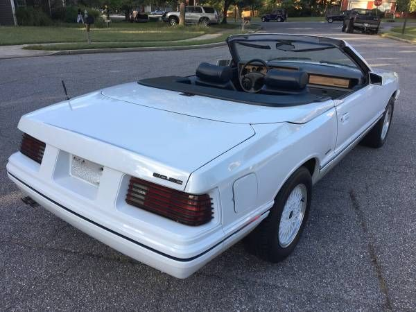 1984 mercury capri asc mclaren convertible 5 0sc 5spd 80s classics pinterest mercury capri