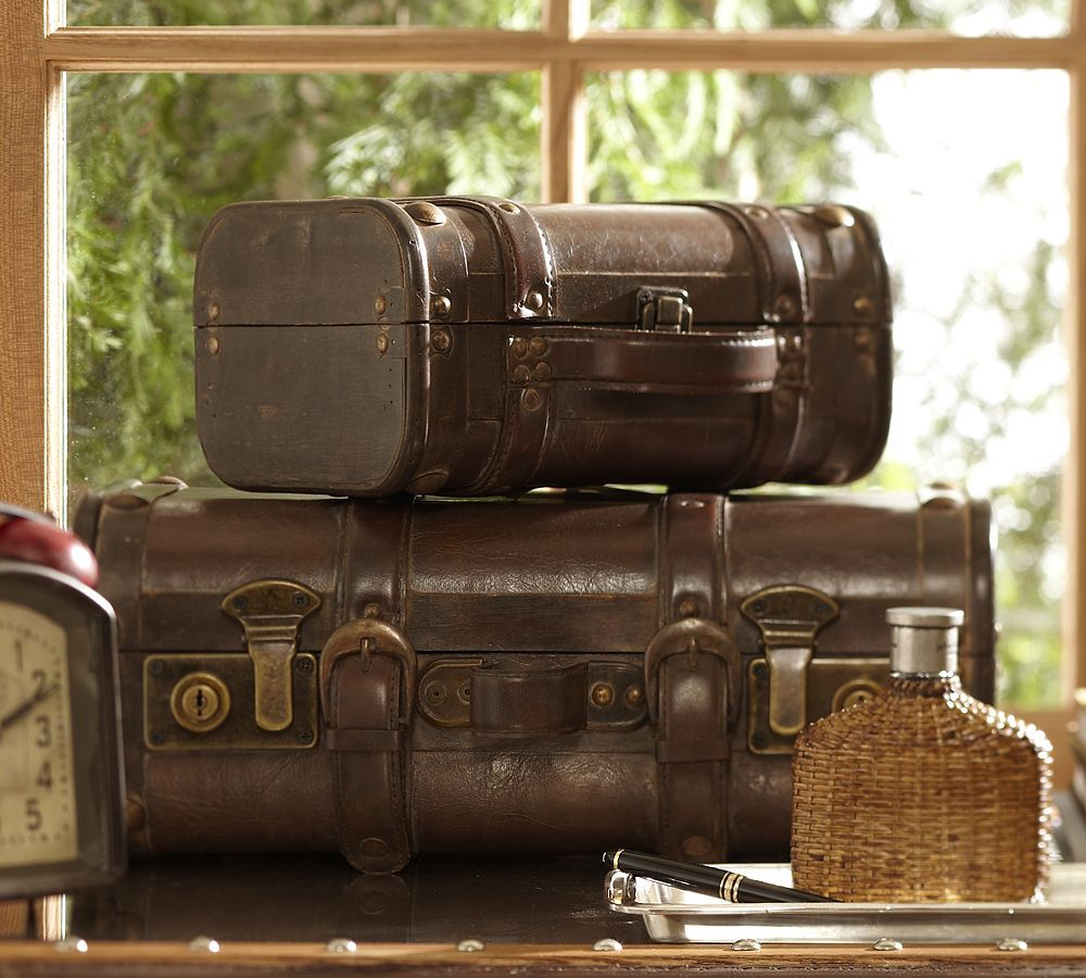 British Colonial decor ... trunks | Pack Your Bags | Pinterest