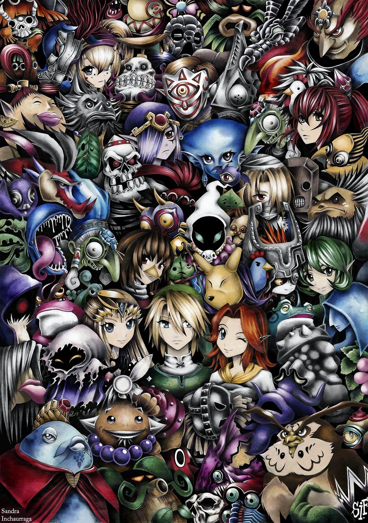 ShareAll Zelda Characters