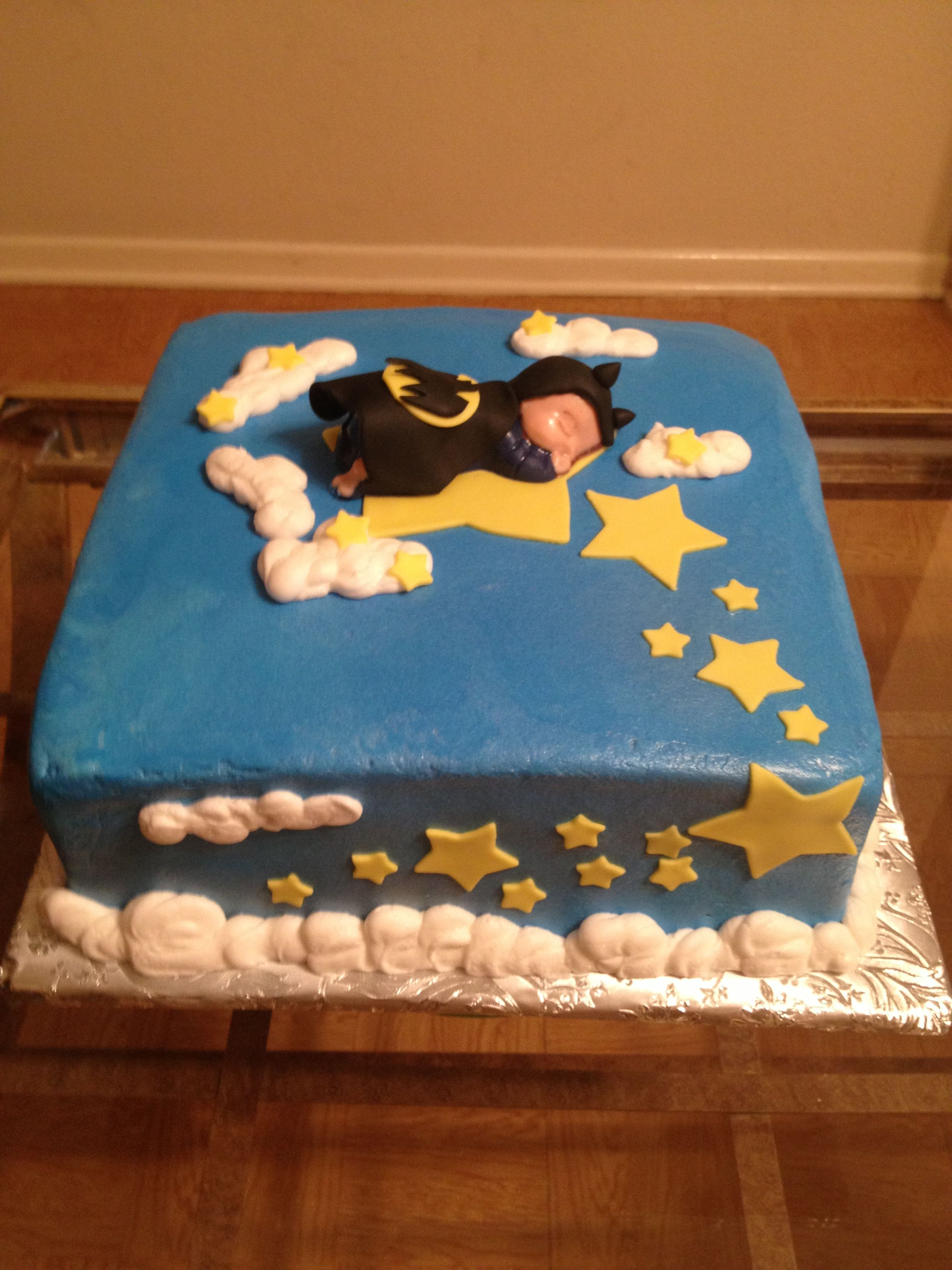 batman baby shower cake cool cakes pinterest