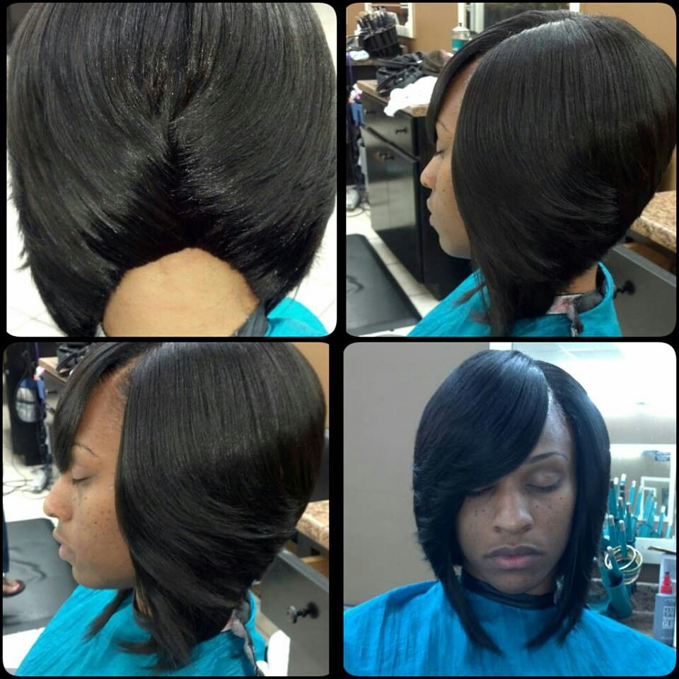urban bob hairstyles : Pin by Tiffany Woods on Hair Styles (um, weave dos) Pinterest